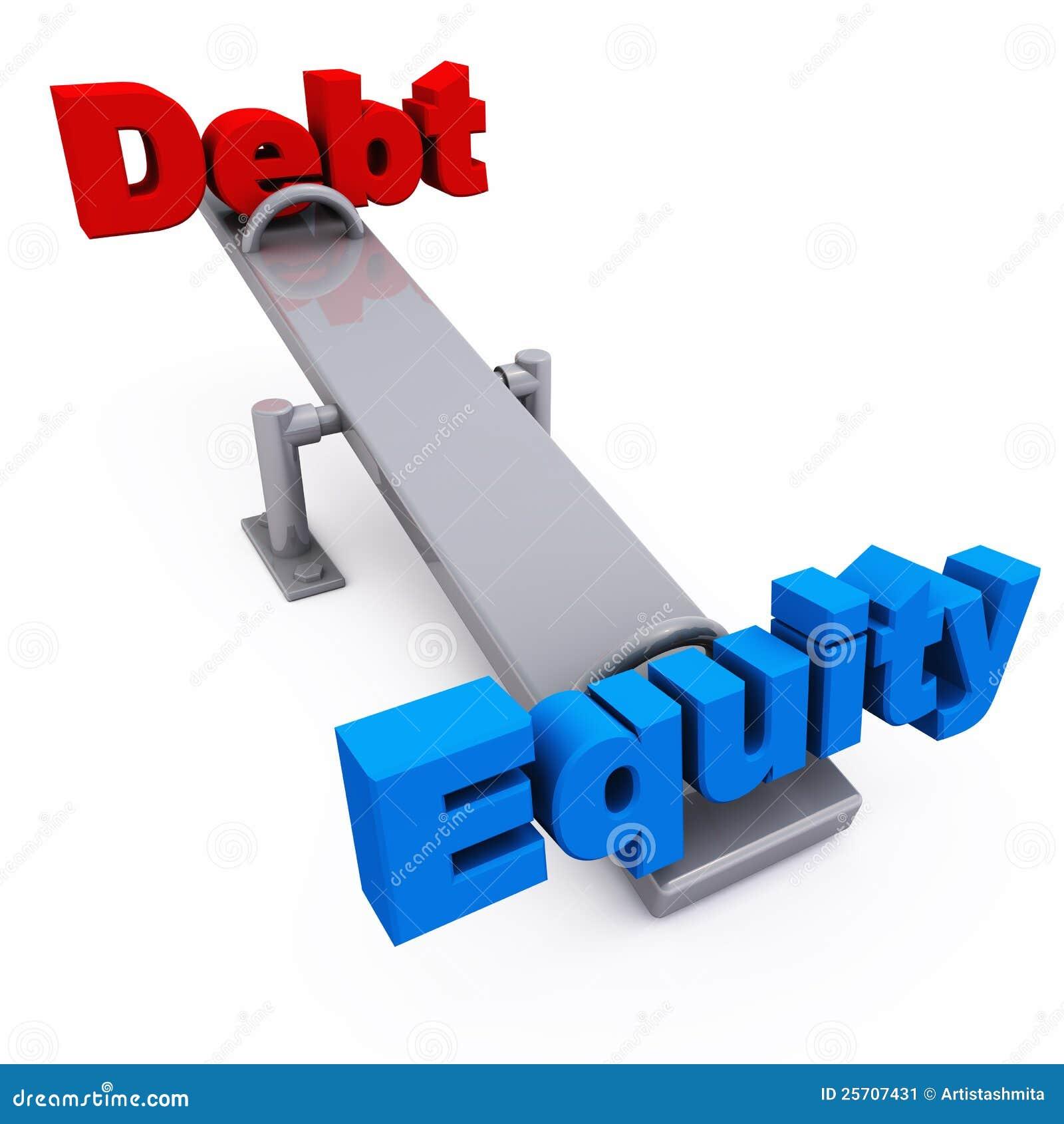 平衡负债产权