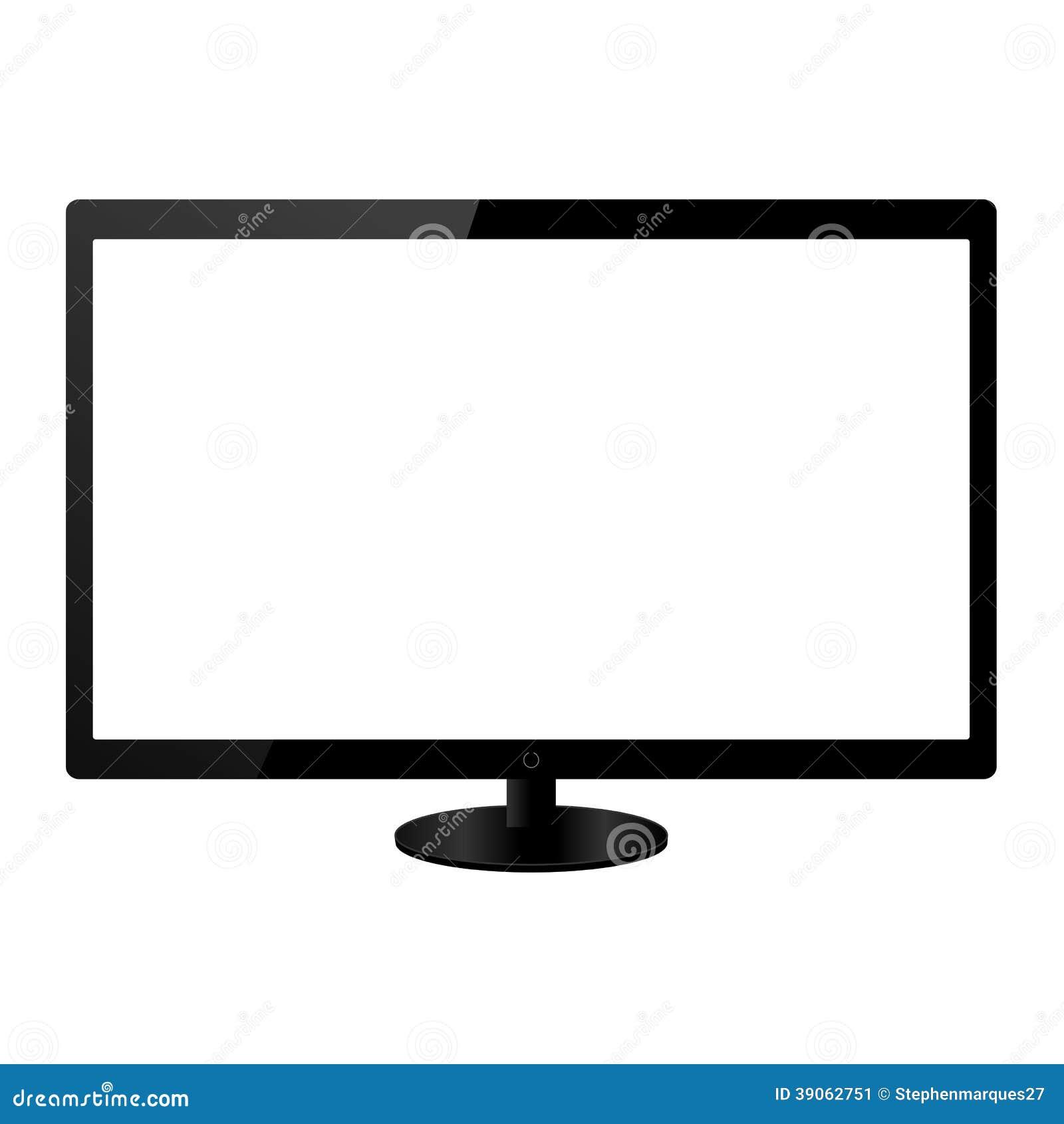 平面屏幕lcd电视显示器
