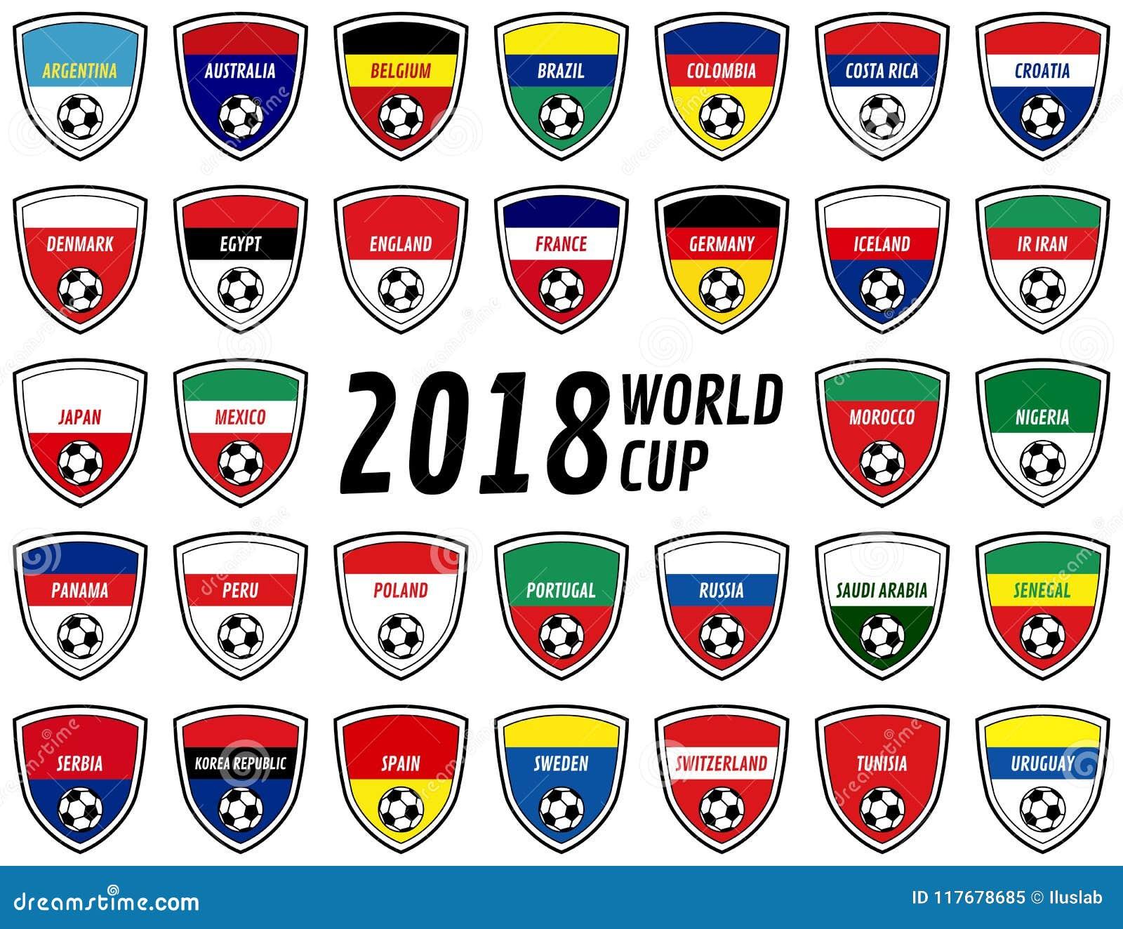 2018年世界杯俄罗斯队徽章