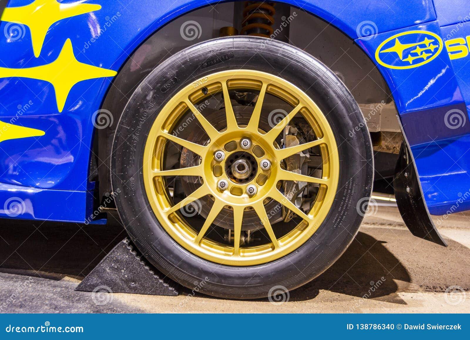 2019年斯巴鲁WRX STI VT19x Rallycross Supercar