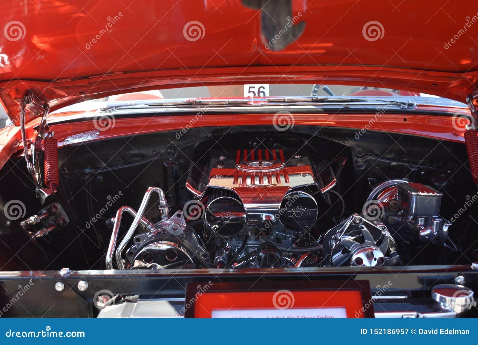 1956年薛佛列贝尔艾尔区轿车,1