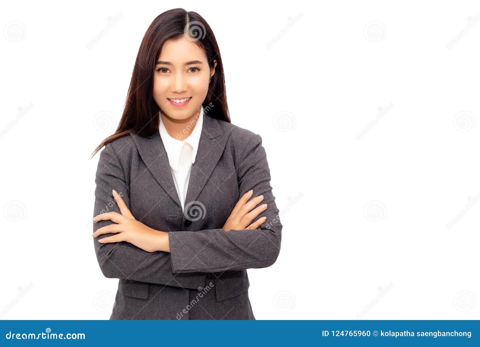 年轻女商人的画象新一代 迷人的busine