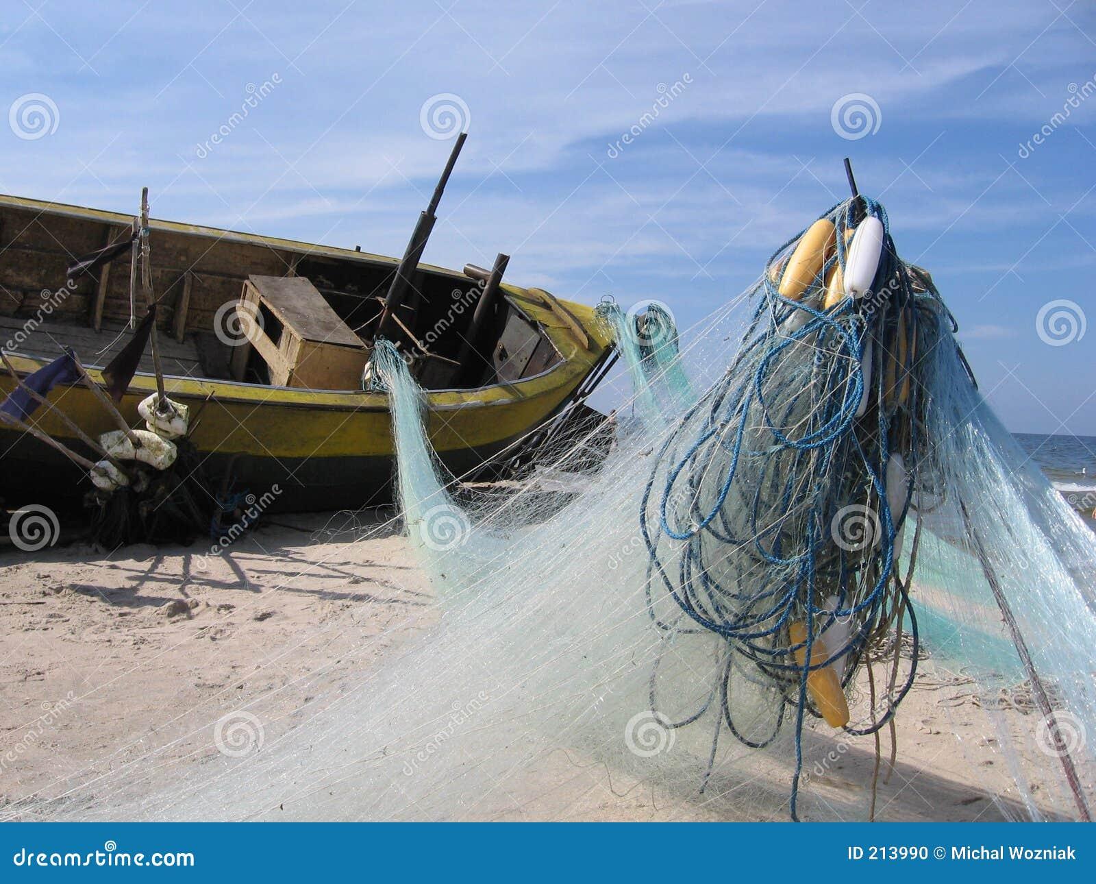 广告小船捕鱼网