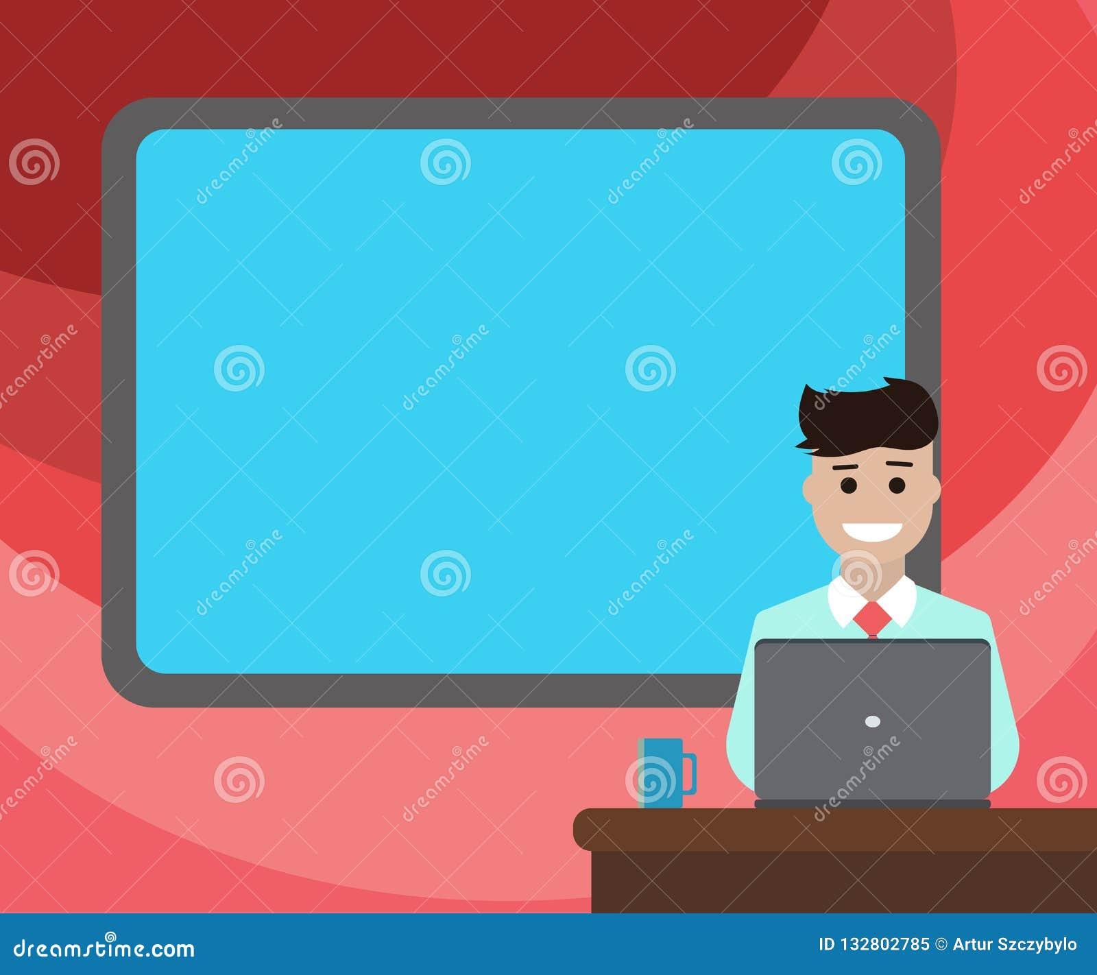 广告网站被隔绝的空白毗邻的板的设计企业概念空的模板拷贝空间文本在人开会后