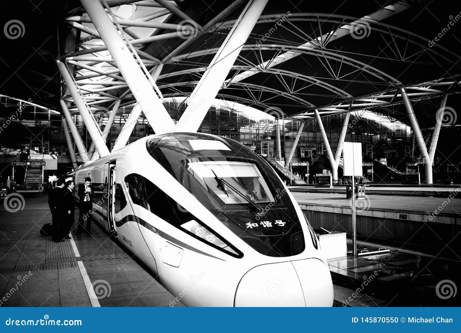 广州南铁路,广东,中国