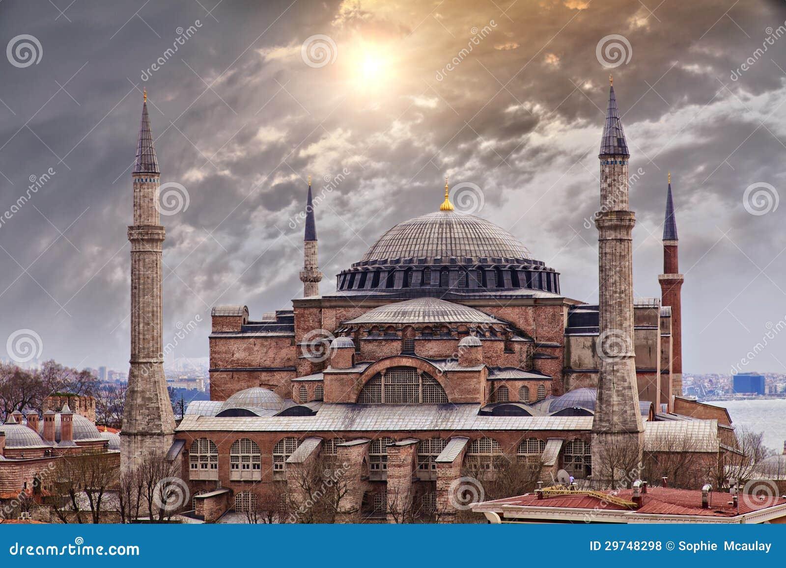 Hagia Sophia伊斯坦布尔