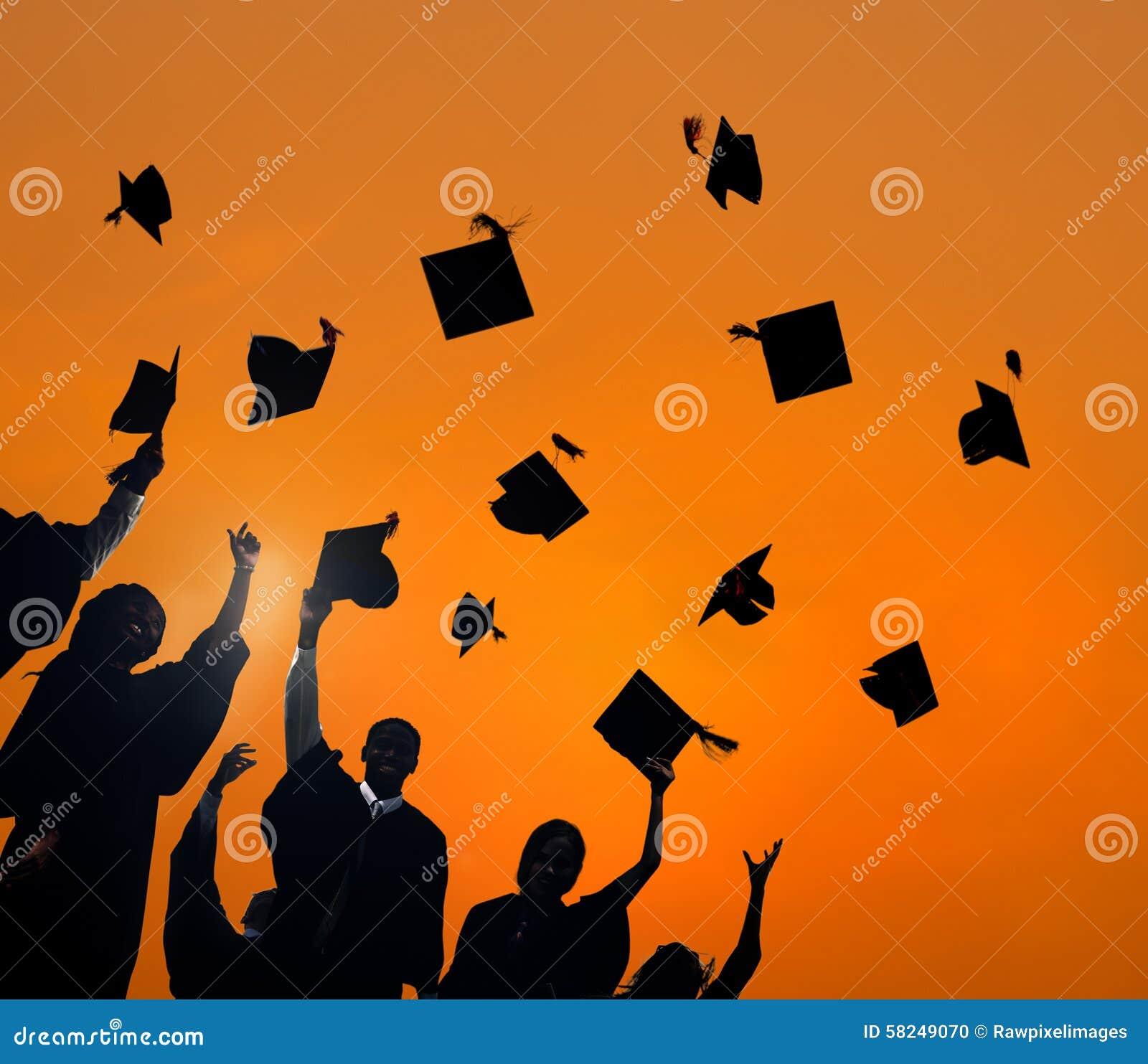 庆祝教育毕业学生成功概念