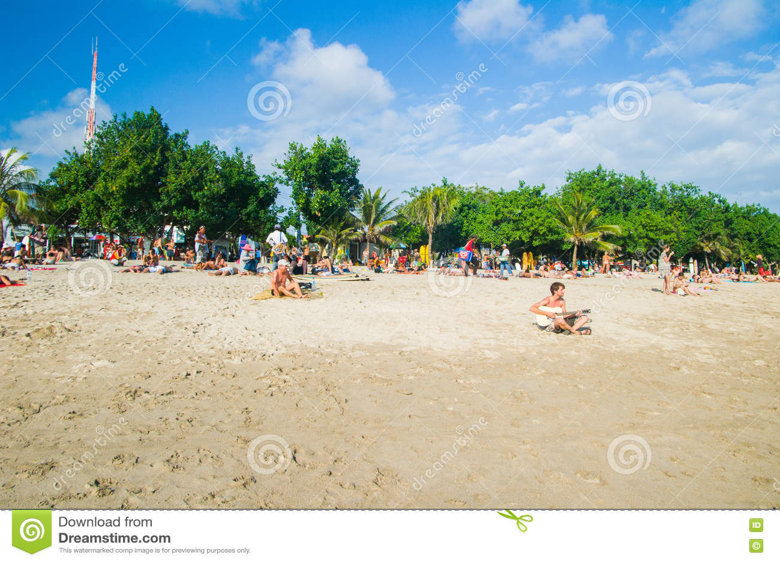 库塔海滩,巴厘岛,印度尼西亚,东南亚
