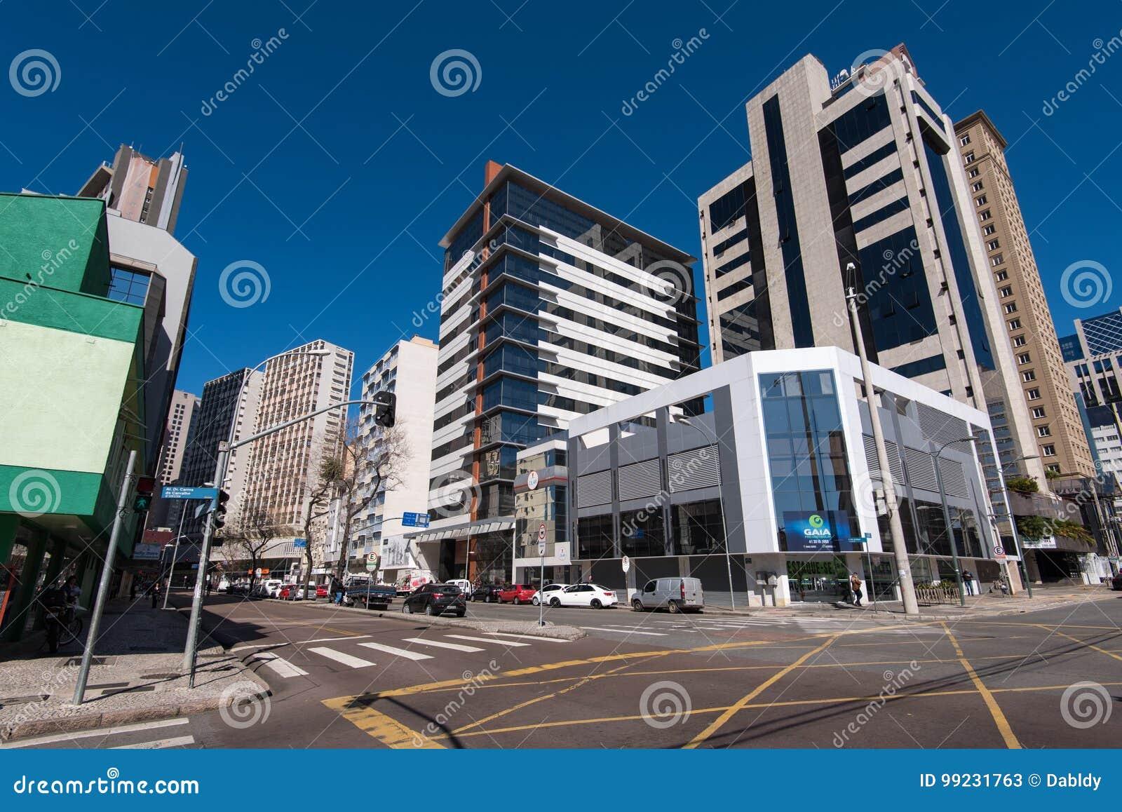 库里奇巴市街道和大厦