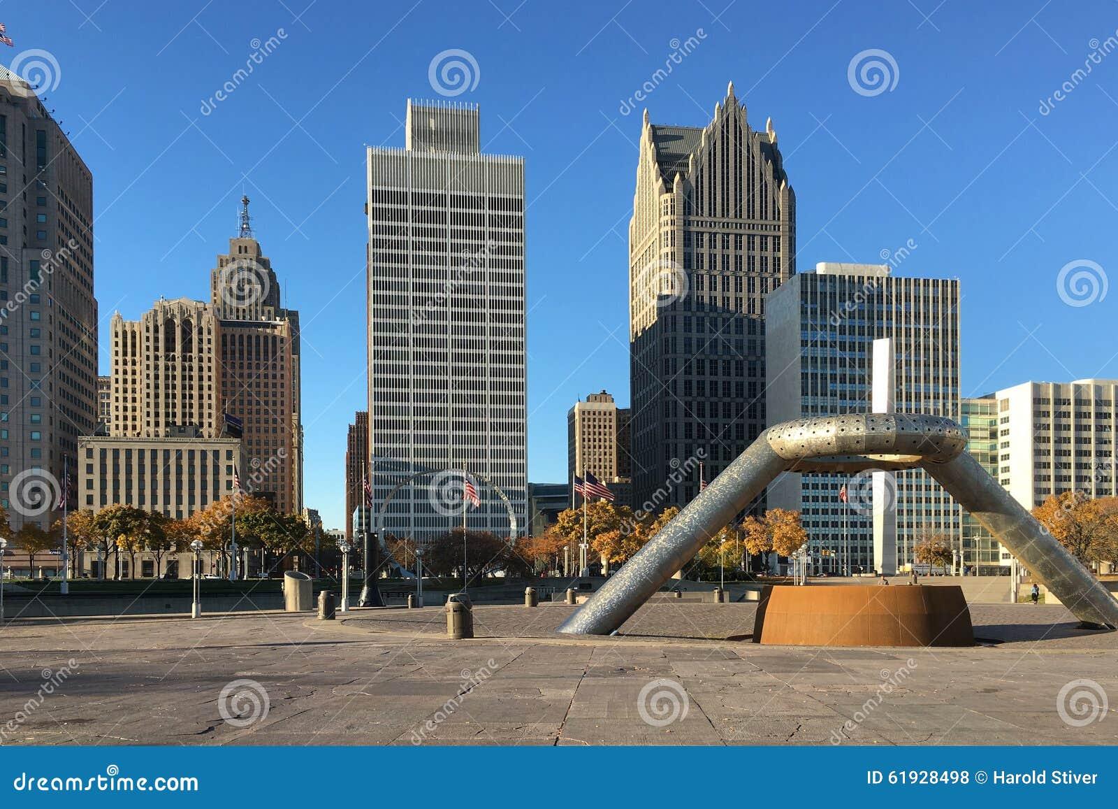 底特律,密执安地平线