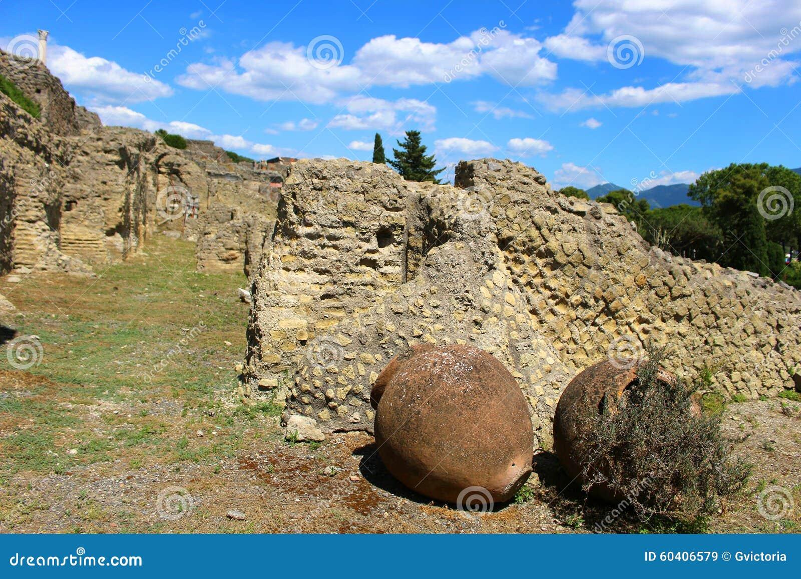 庞贝城废墟