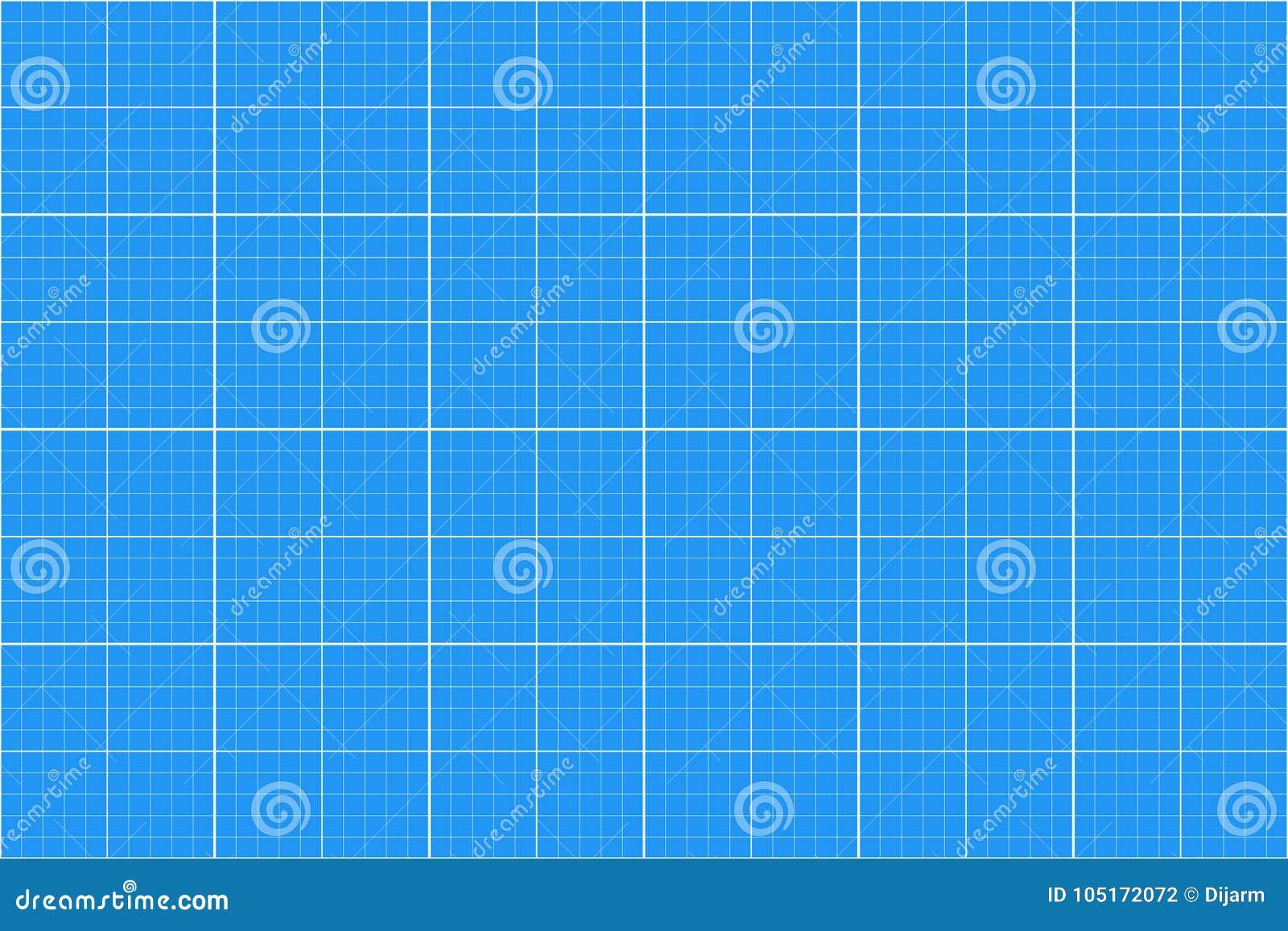 座标图纸 无缝的模式 建筑师backgound 毫米栅格 向量