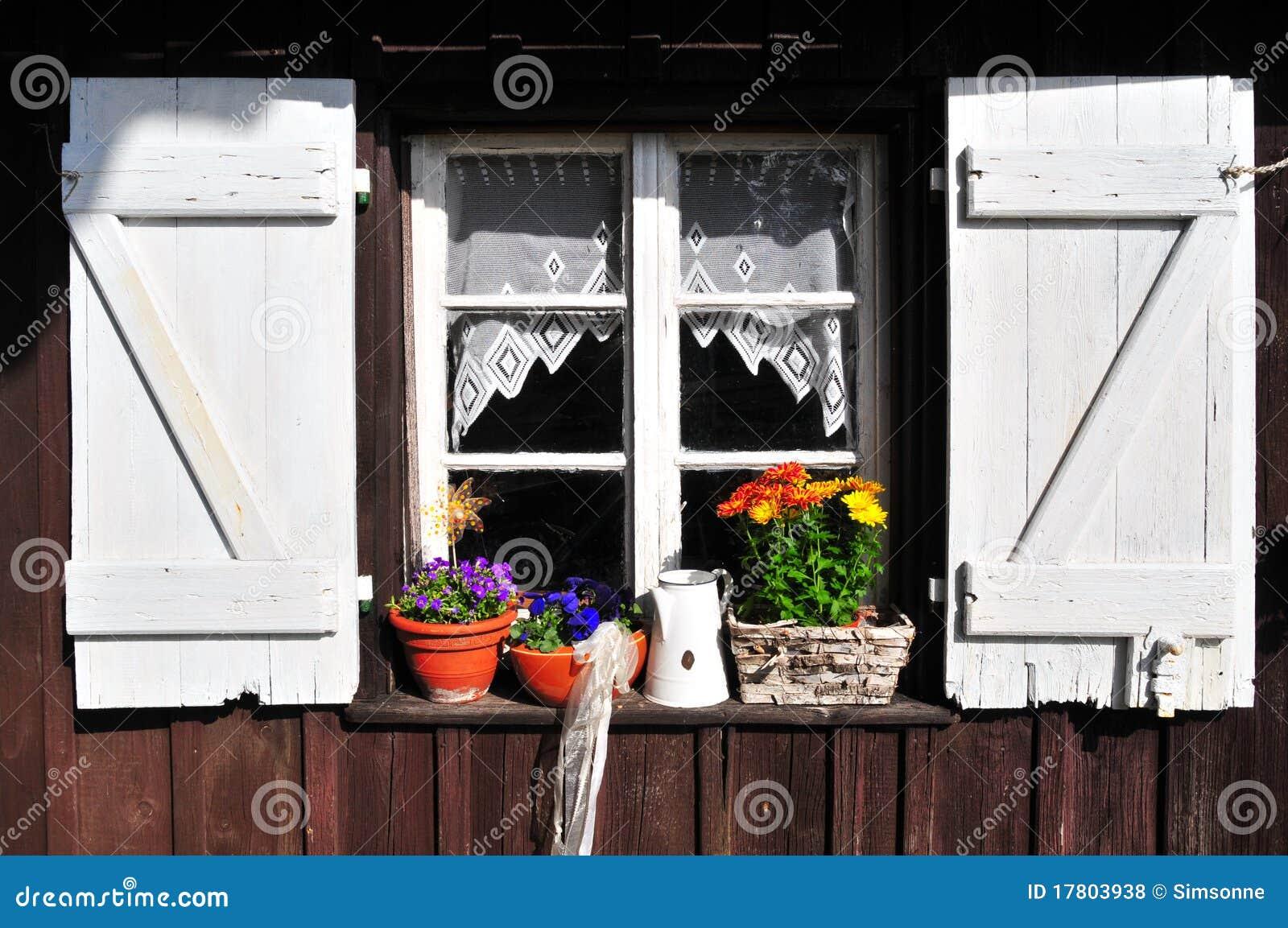 庭院老棚子视窗