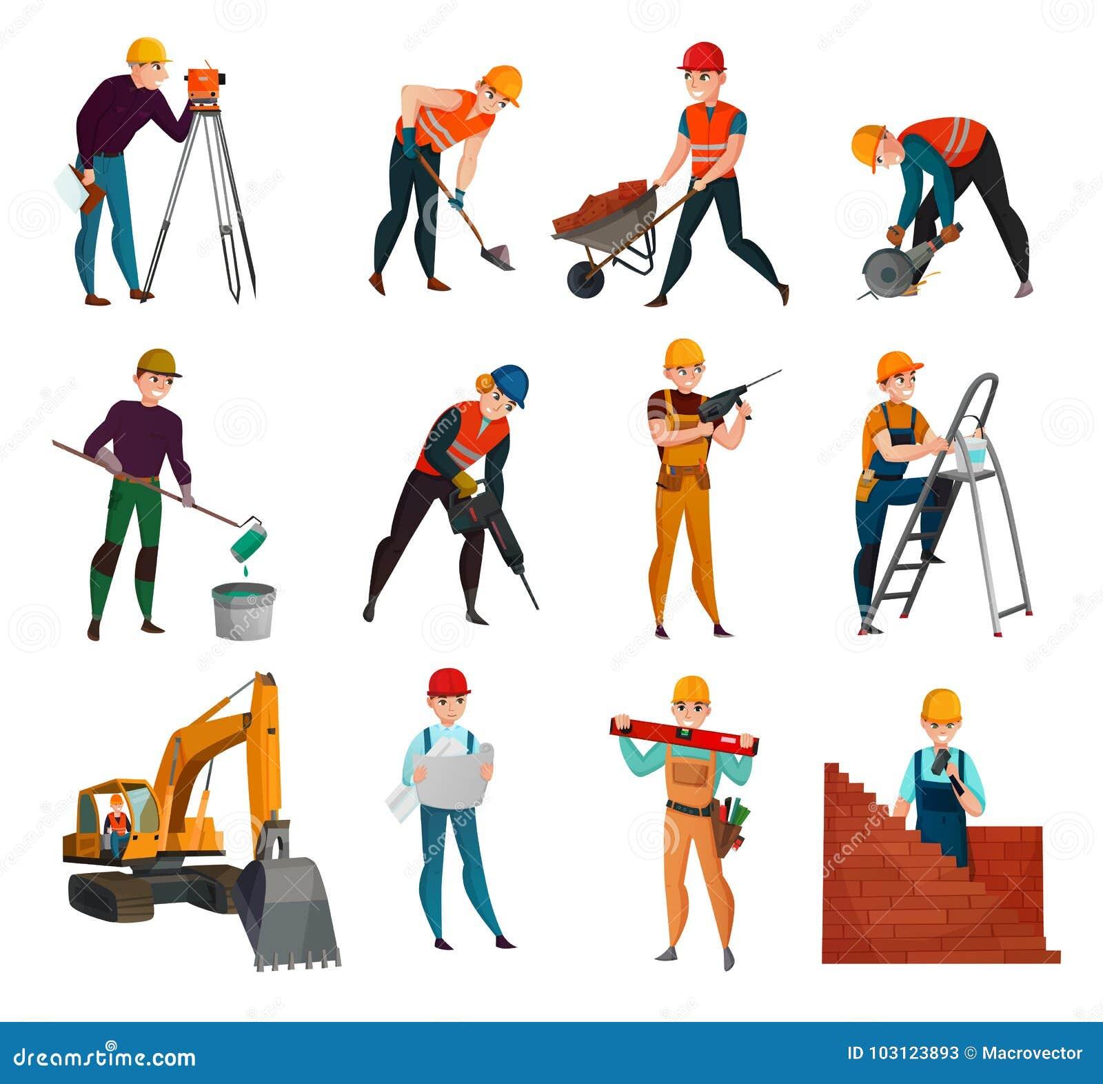 建筑工人被设置