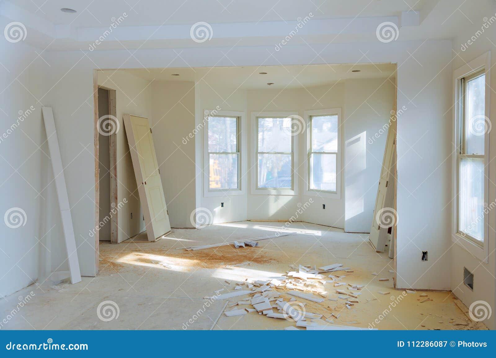 建筑建筑业新的家庭建筑内部干式墙磁带 楼房建筑石膏膏药墙壁