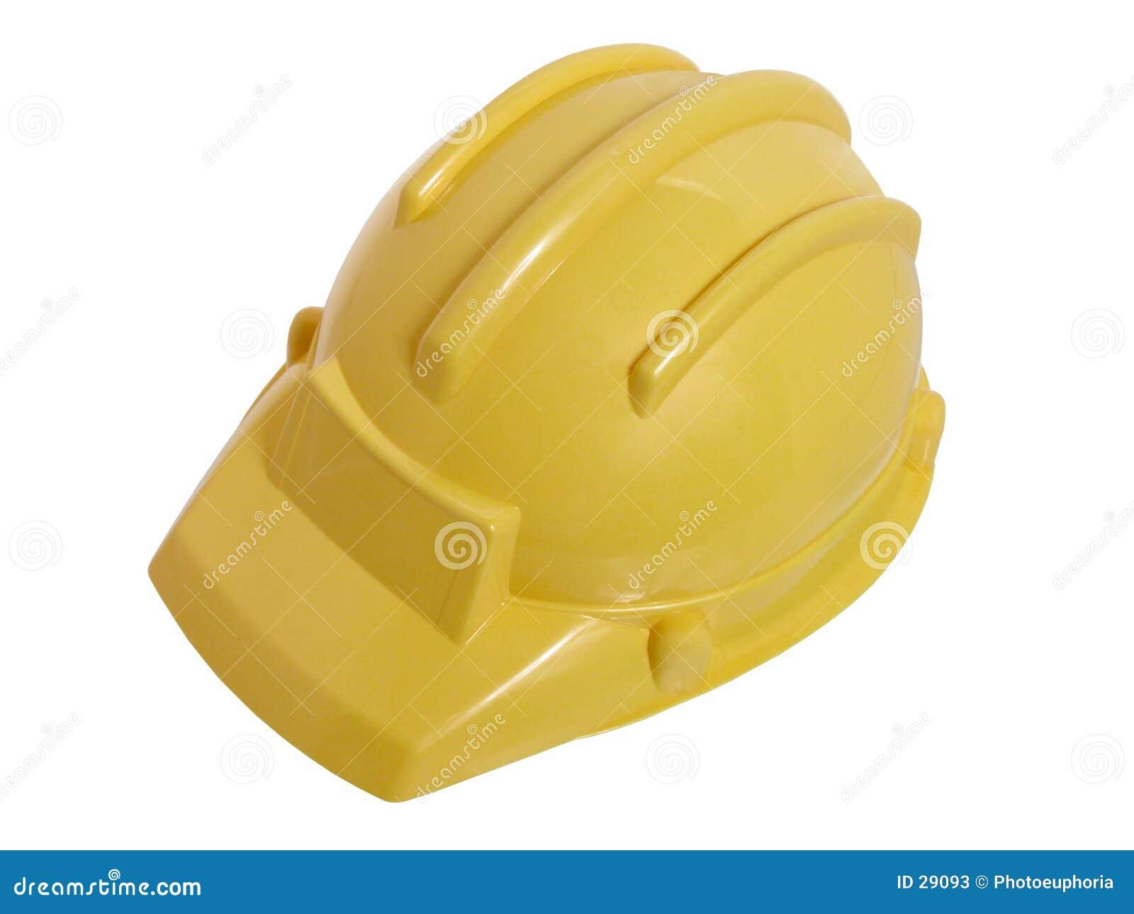 建筑盔甲戏弄黄色
