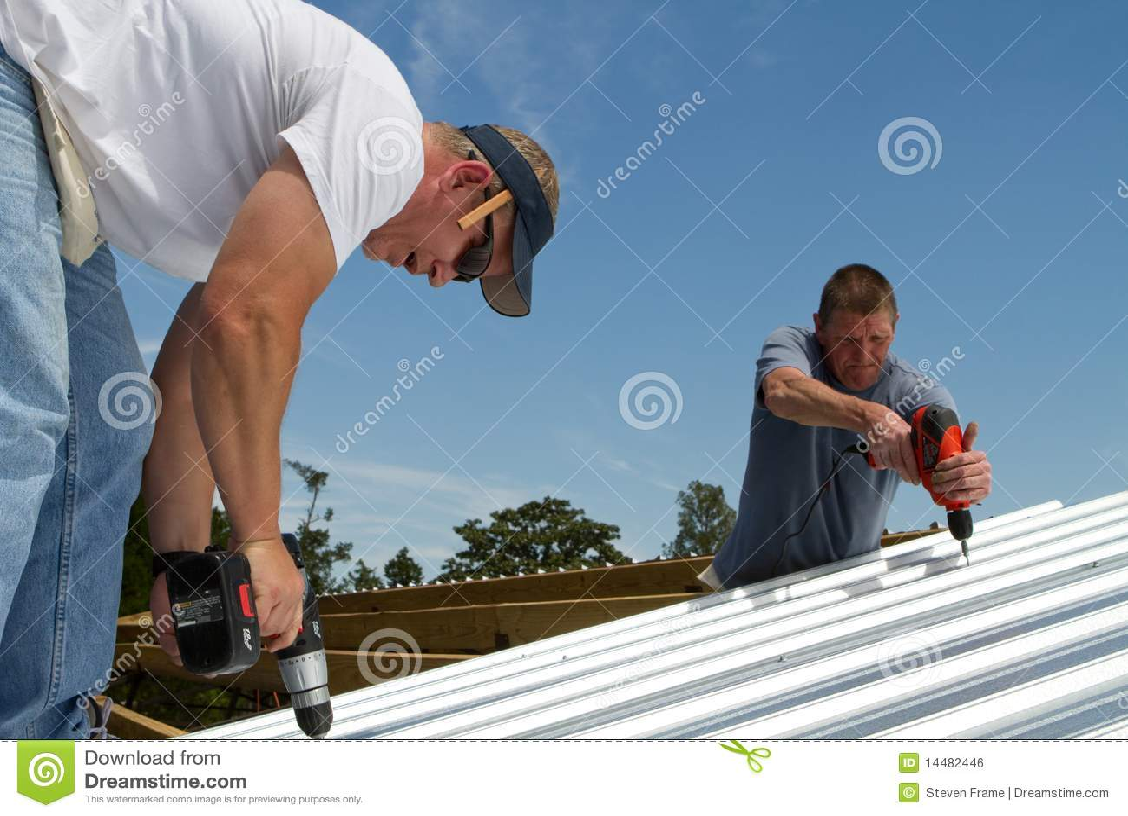 建筑队屋顶