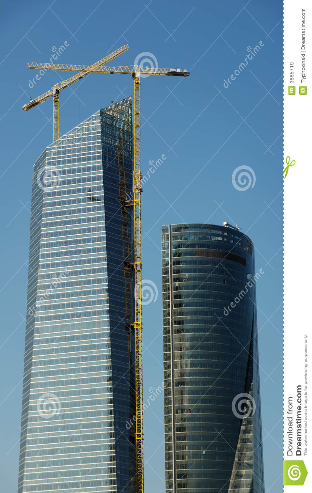建造场所摩天大楼