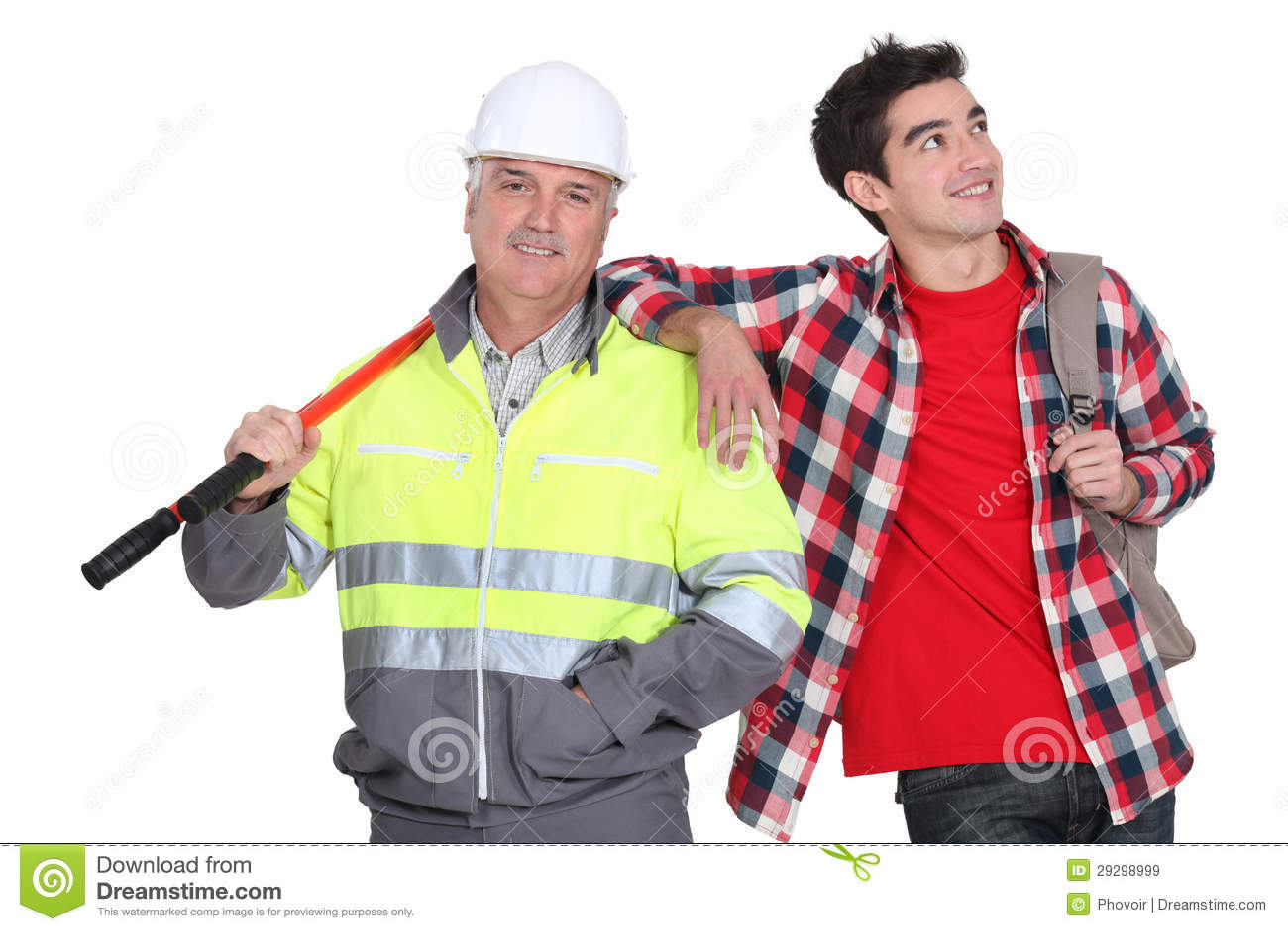 建造者突出与新的员工