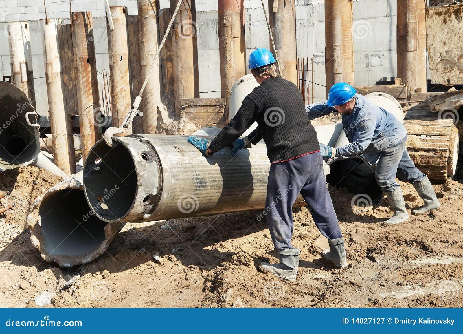 建造者设备打桩