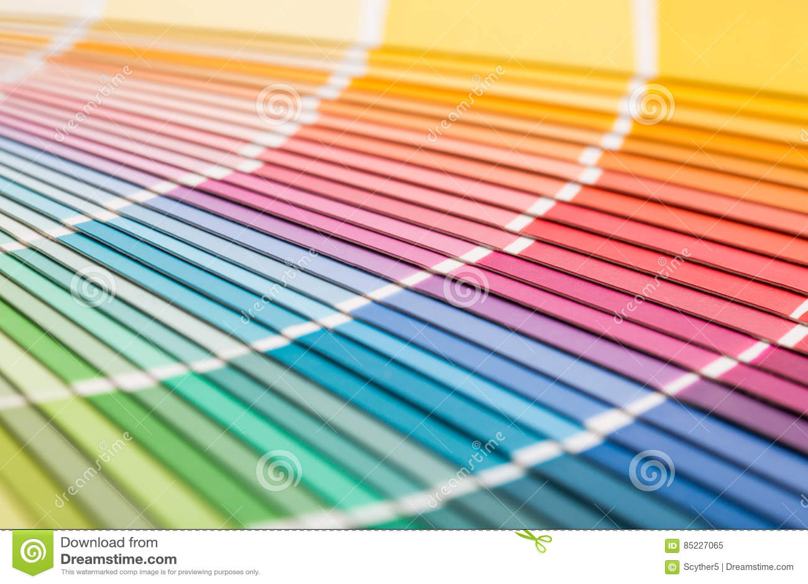 开张pantone范例颜色目录