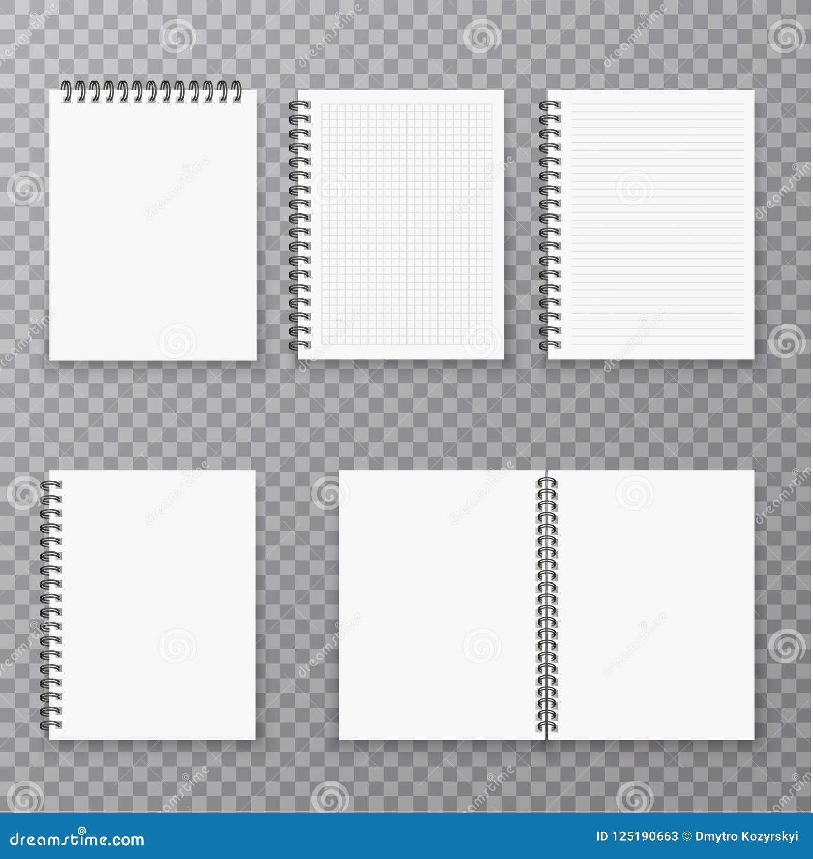 开放的空白和闭合的现实笔记本收藏、组织者和日志导航被隔绝的模板 纸页组织者