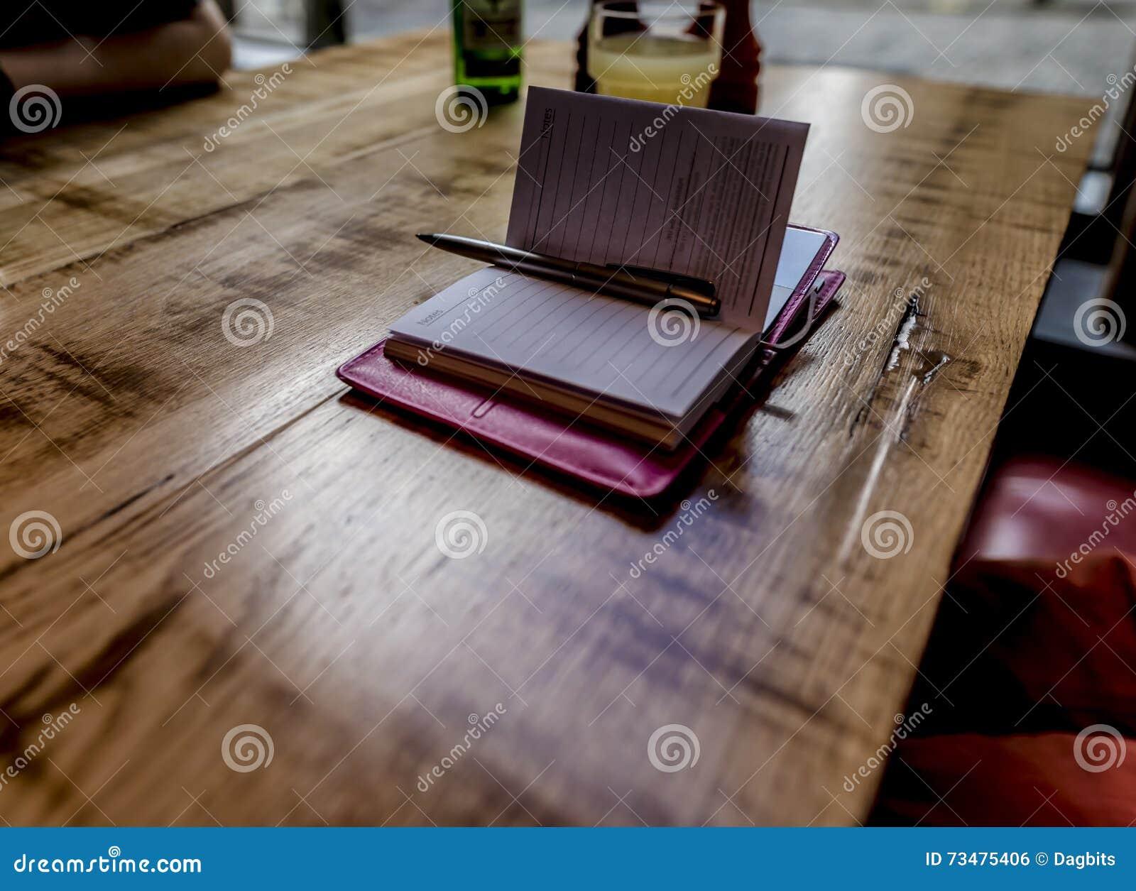 开放的笔记本