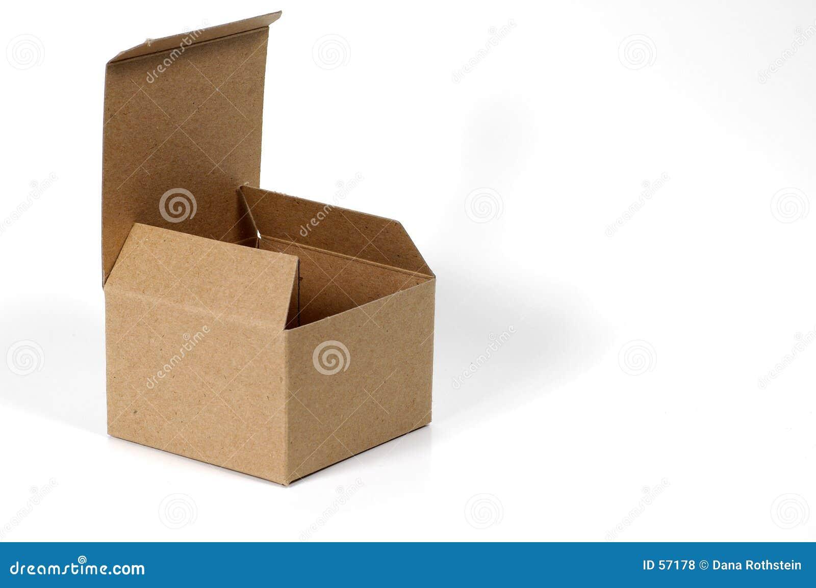 开放的配件箱