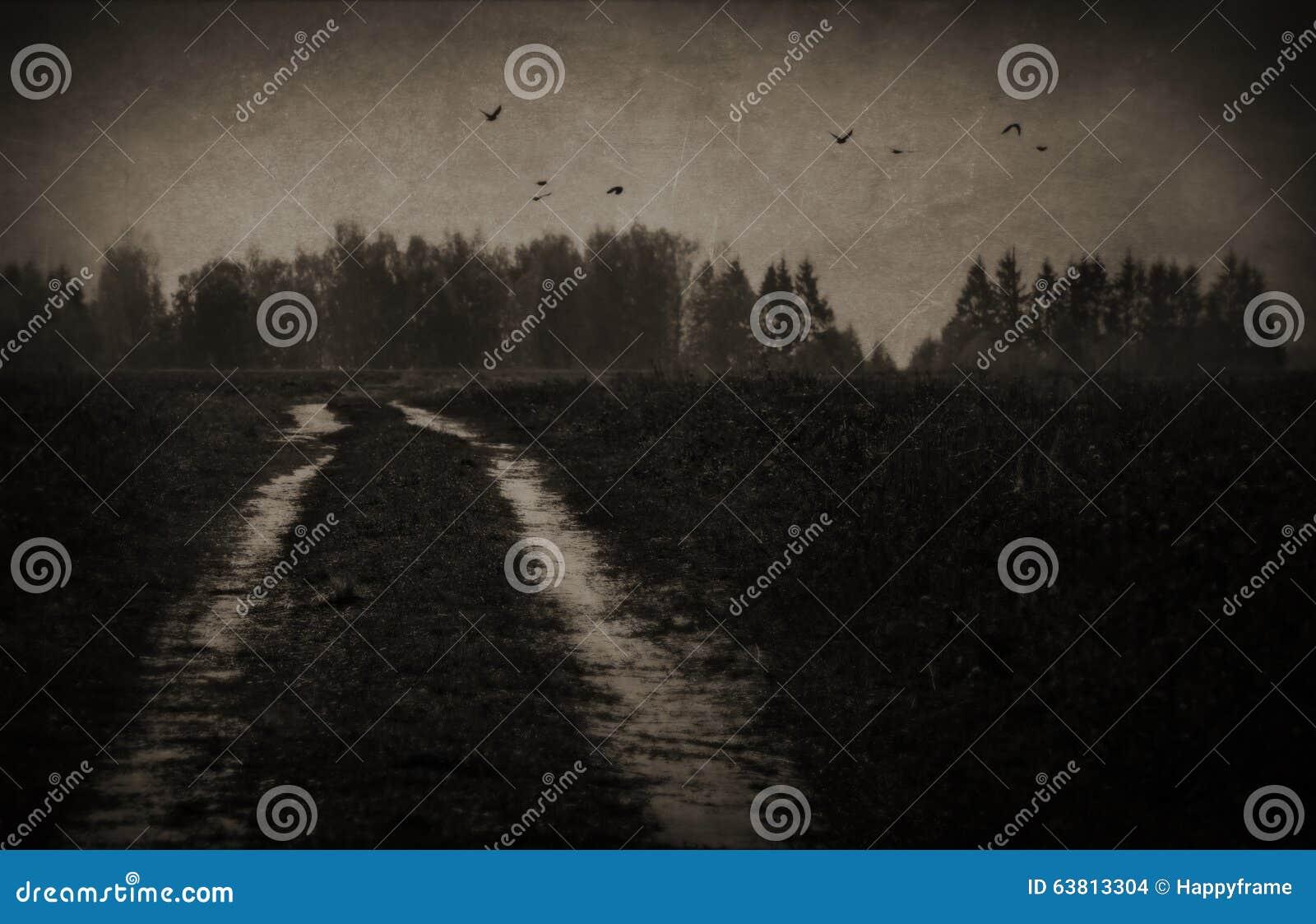 离开的路在鬼的森林里
