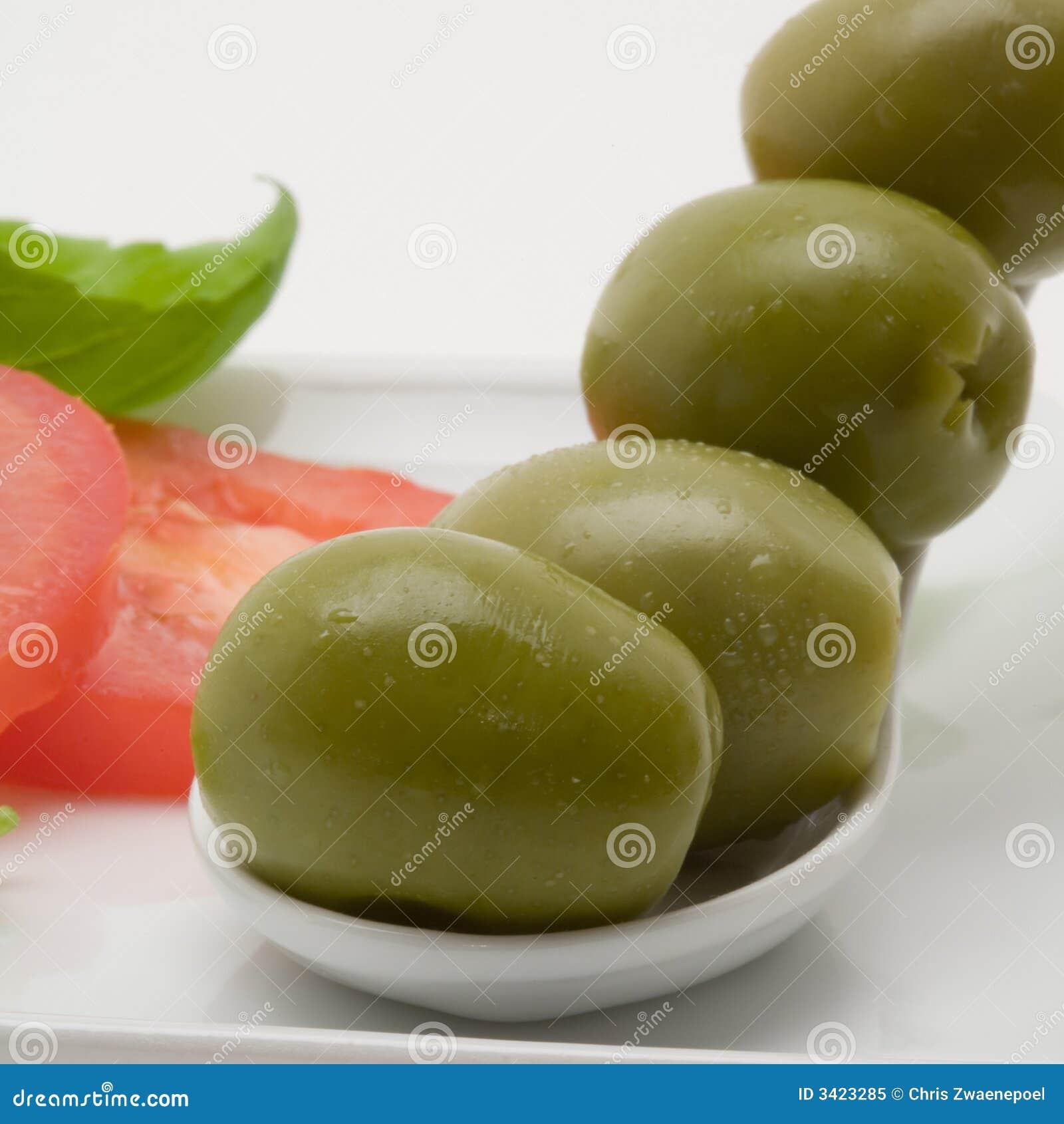 开胃菜橄榄