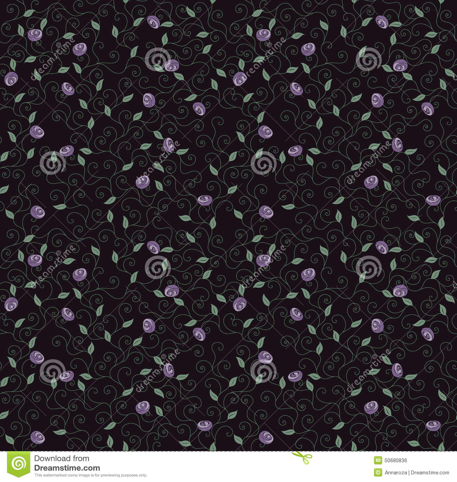 Download 开花紫色 模式 库存例证. 插画 包括有 绿色, 成象, 要素, 装饰, 乱画, brander, 设计 - 50680836