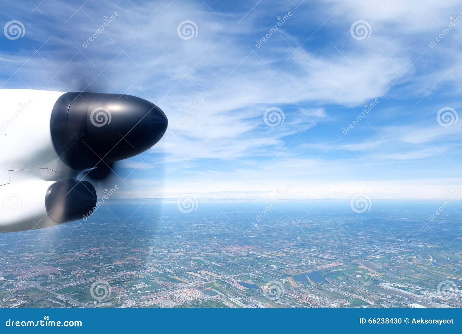 引擎喷气机视图可视翼