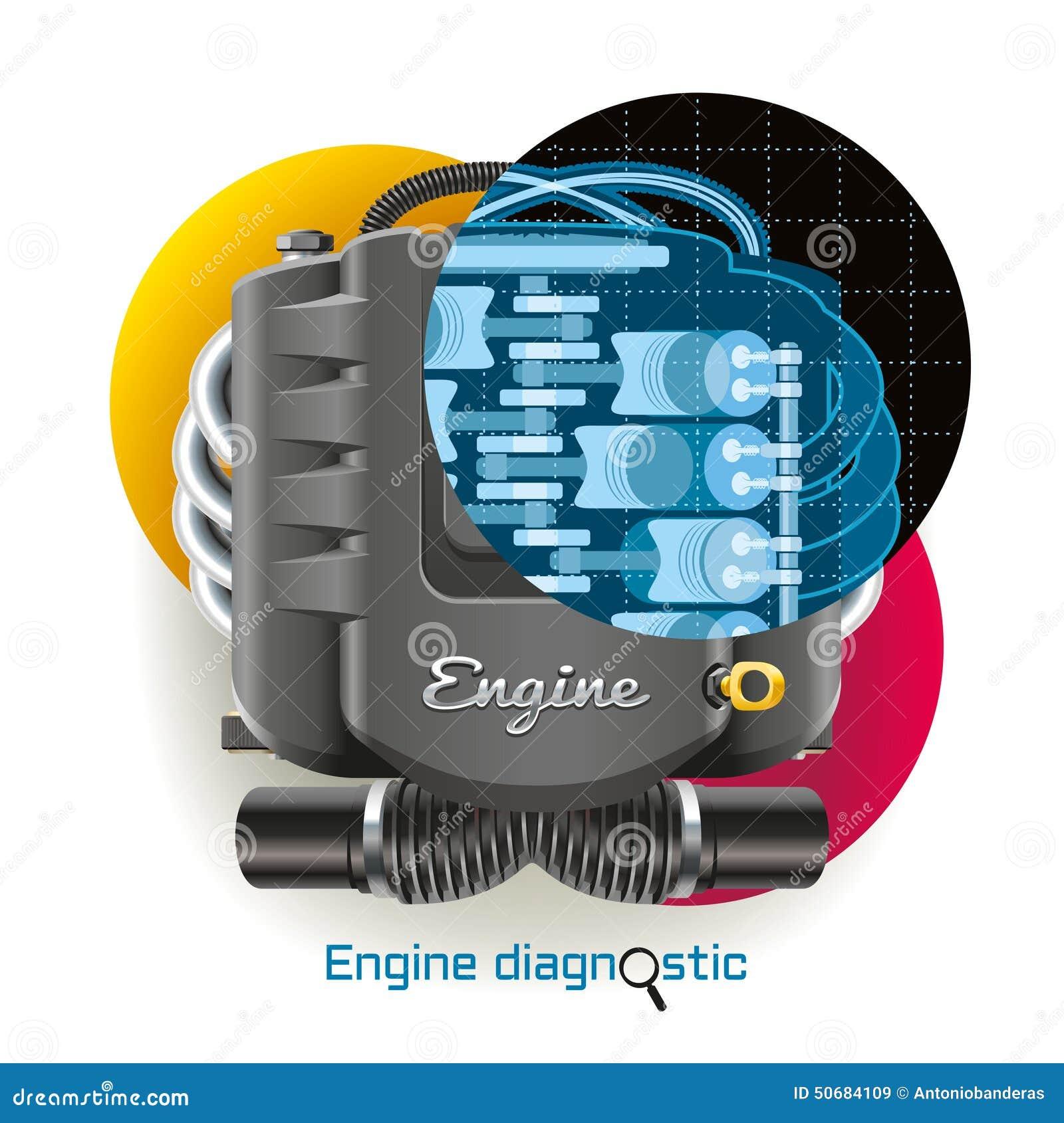 Download 引擎诊断 向量例证. 插画 包括有 技术, 次幂, 通信工具, 自动, 设备, 停车库, 运输, 岗位, 行业 - 50684109