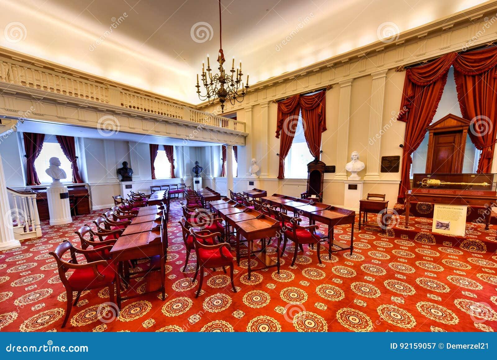 弗吉尼亚状态国会大厦-里士满,弗吉尼亚