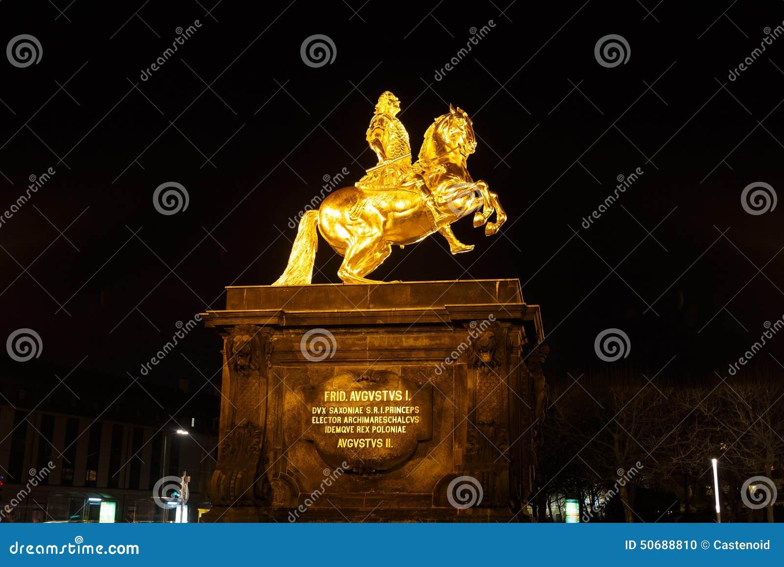 Download 弗雷德里克奥古斯都的金纪念碑II 库存照片. 图片 包括有 投反对票, 艺术, frederick, 纪念碑 - 50688810