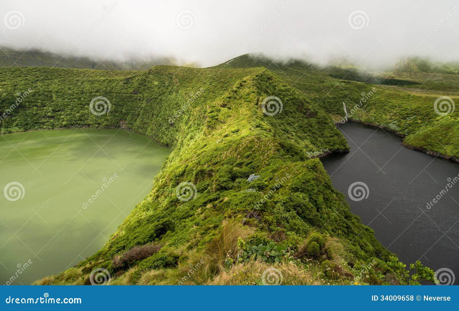弗洛勒斯的Volcano湖