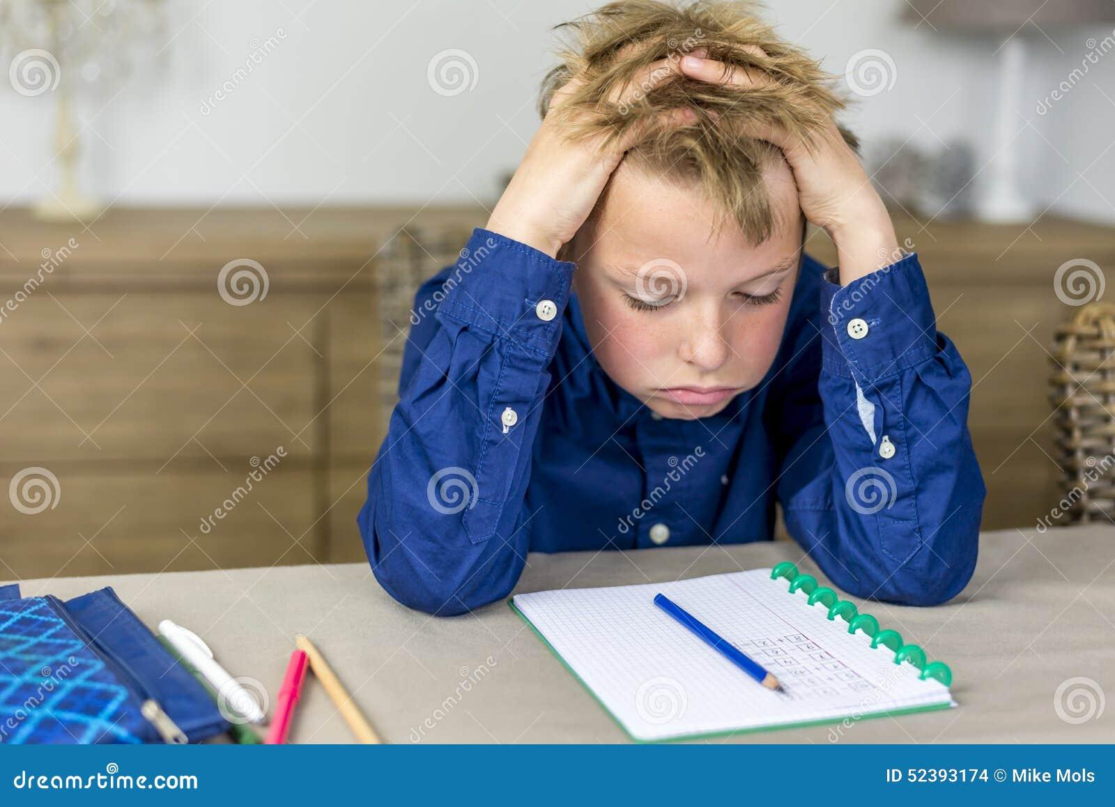 紧张家庭作业