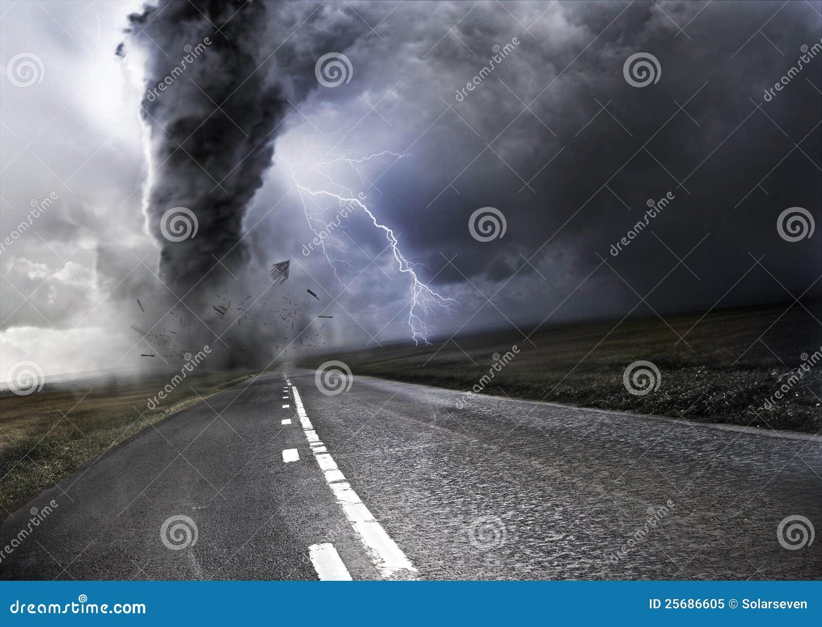强大的龙卷风