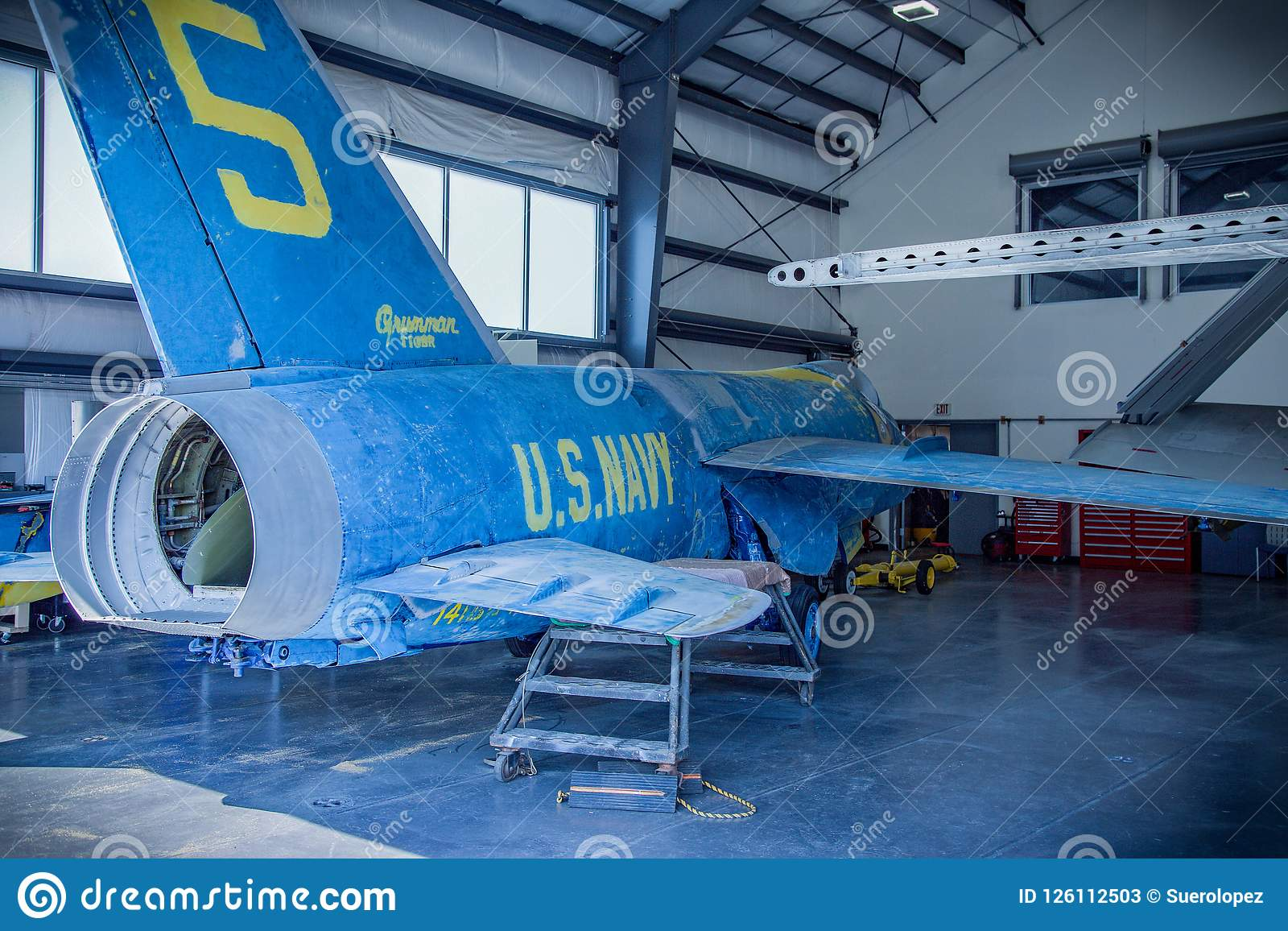 强悍海、空气&太空博物馆我们海军飞机