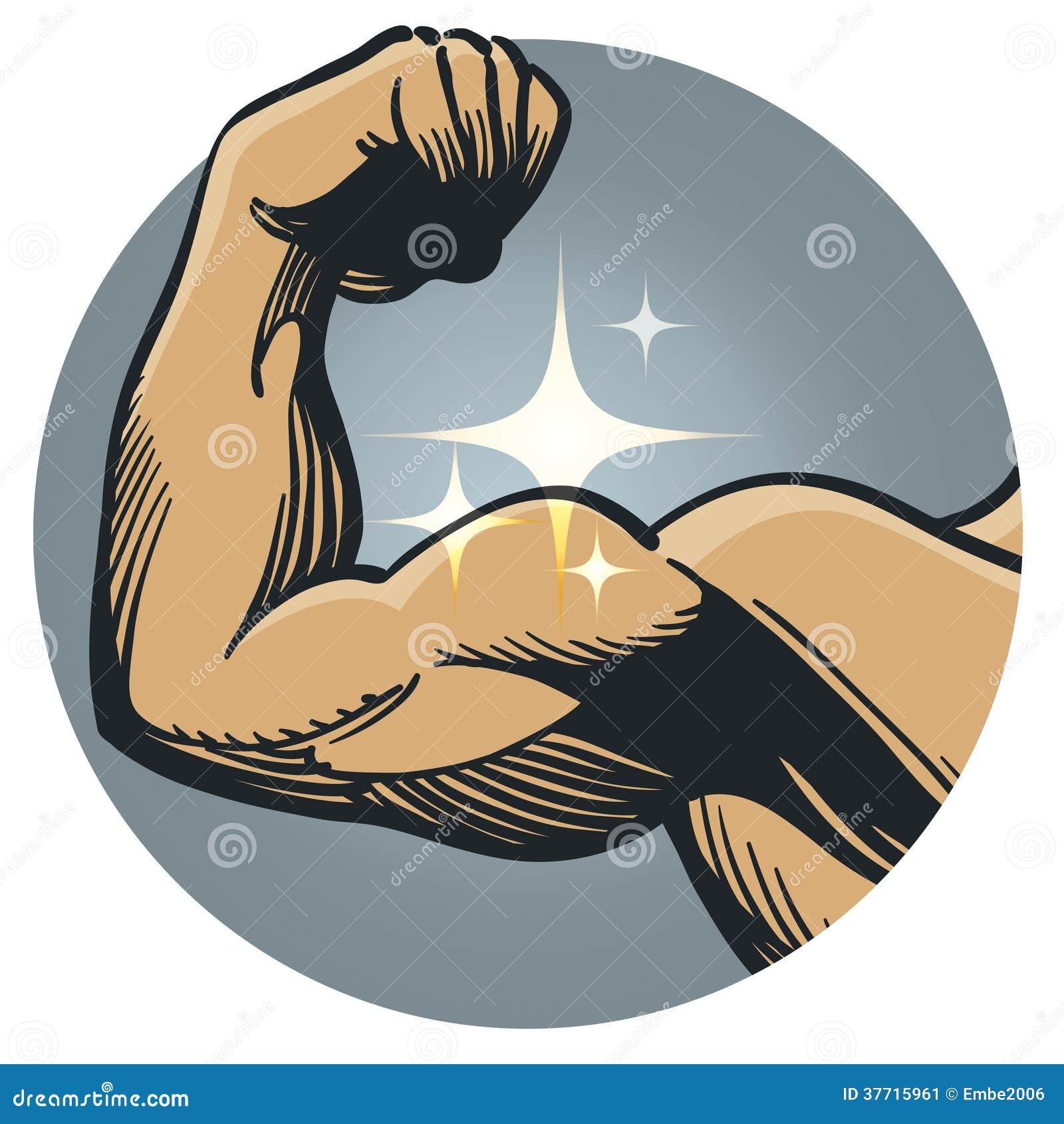 强的肌肉导电线