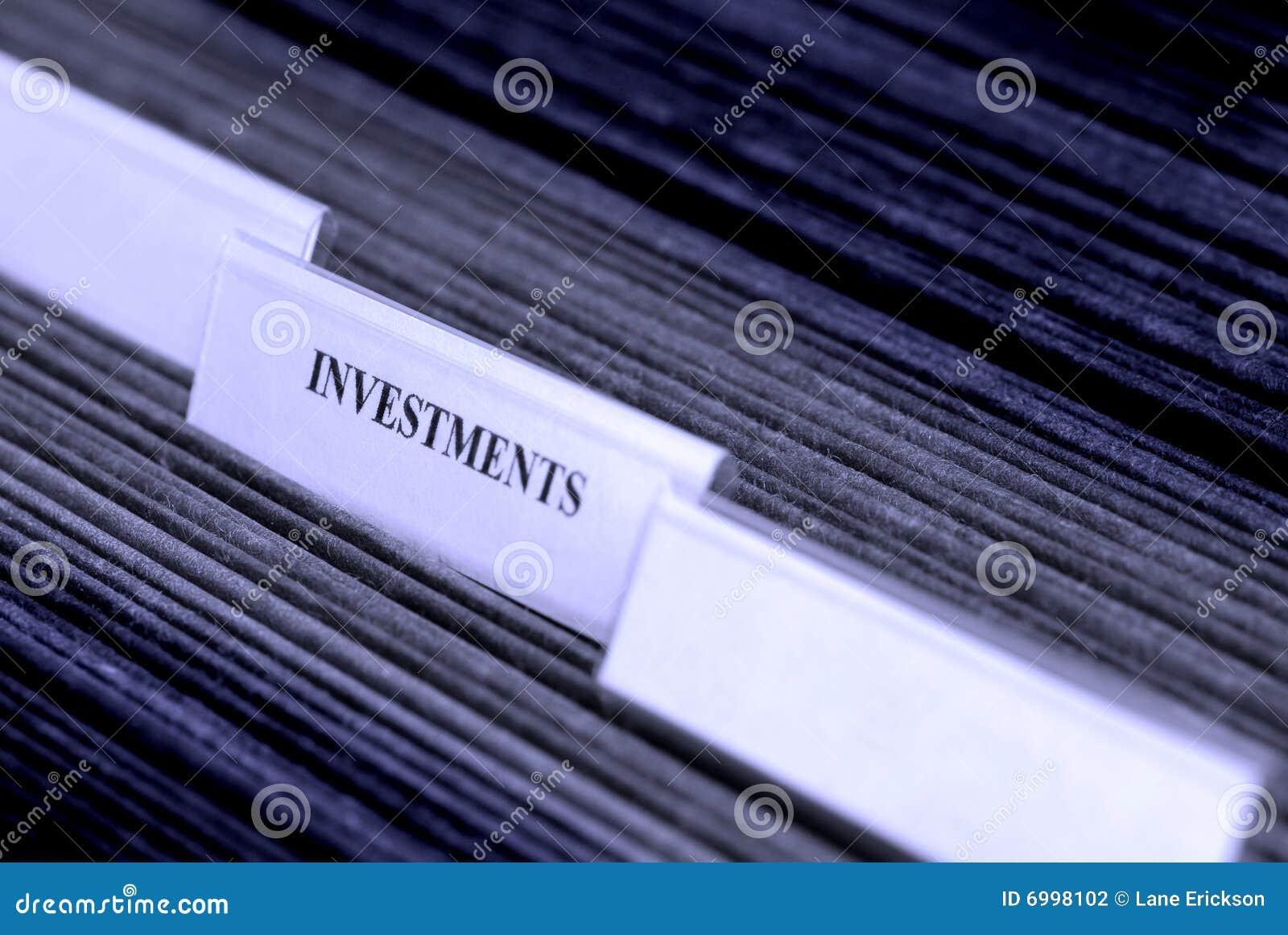 归档投资组织的选项