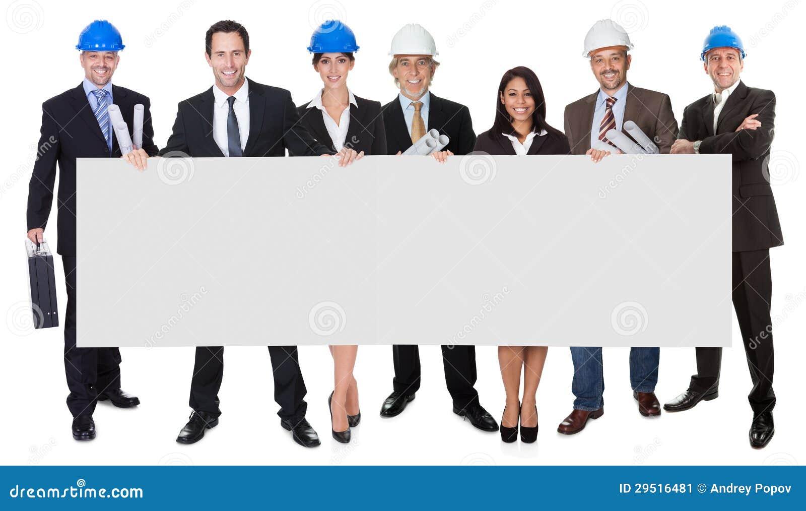 当前空的横幅的组建筑师