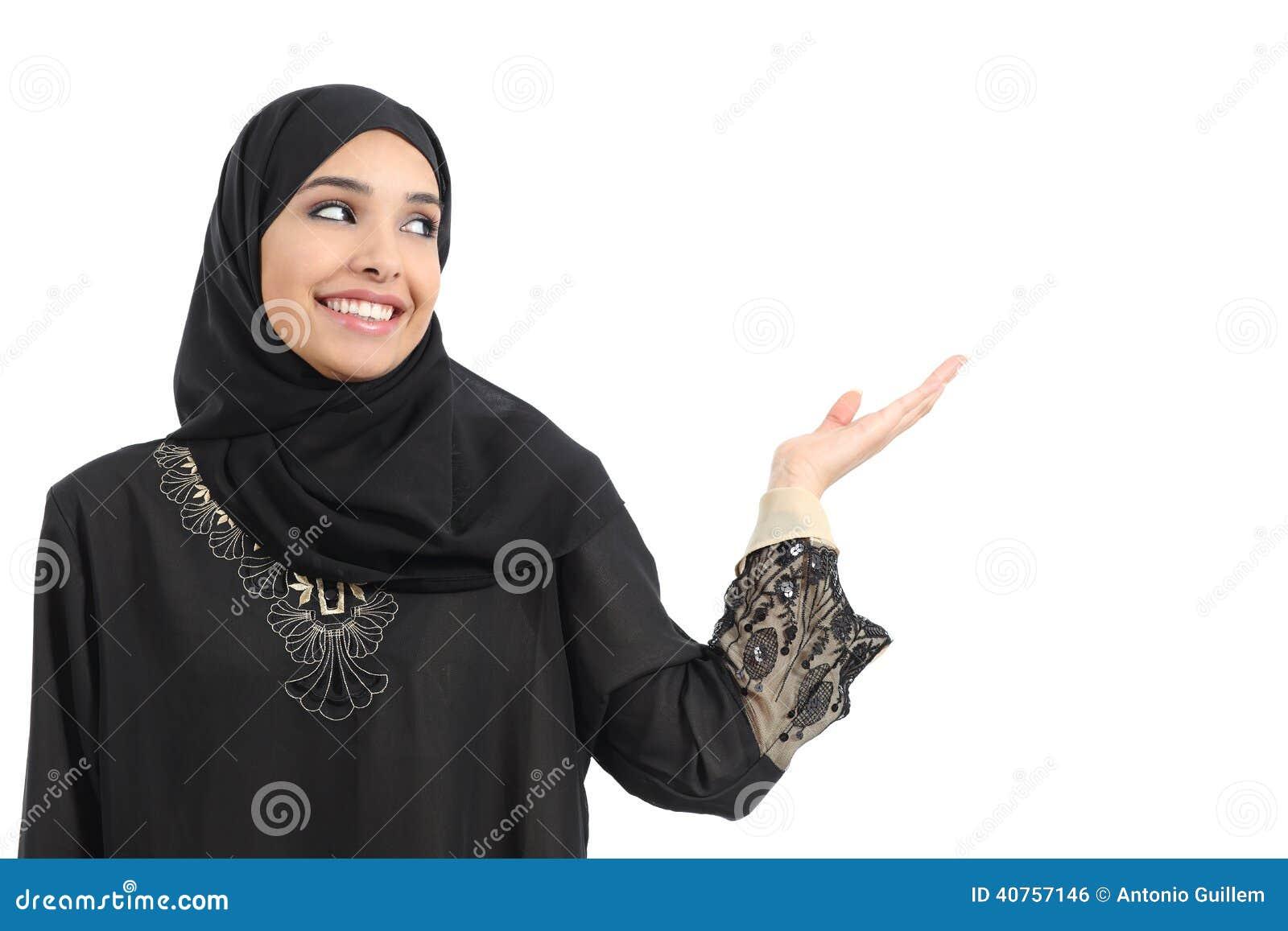 当前阿拉伯妇女的促进者看边