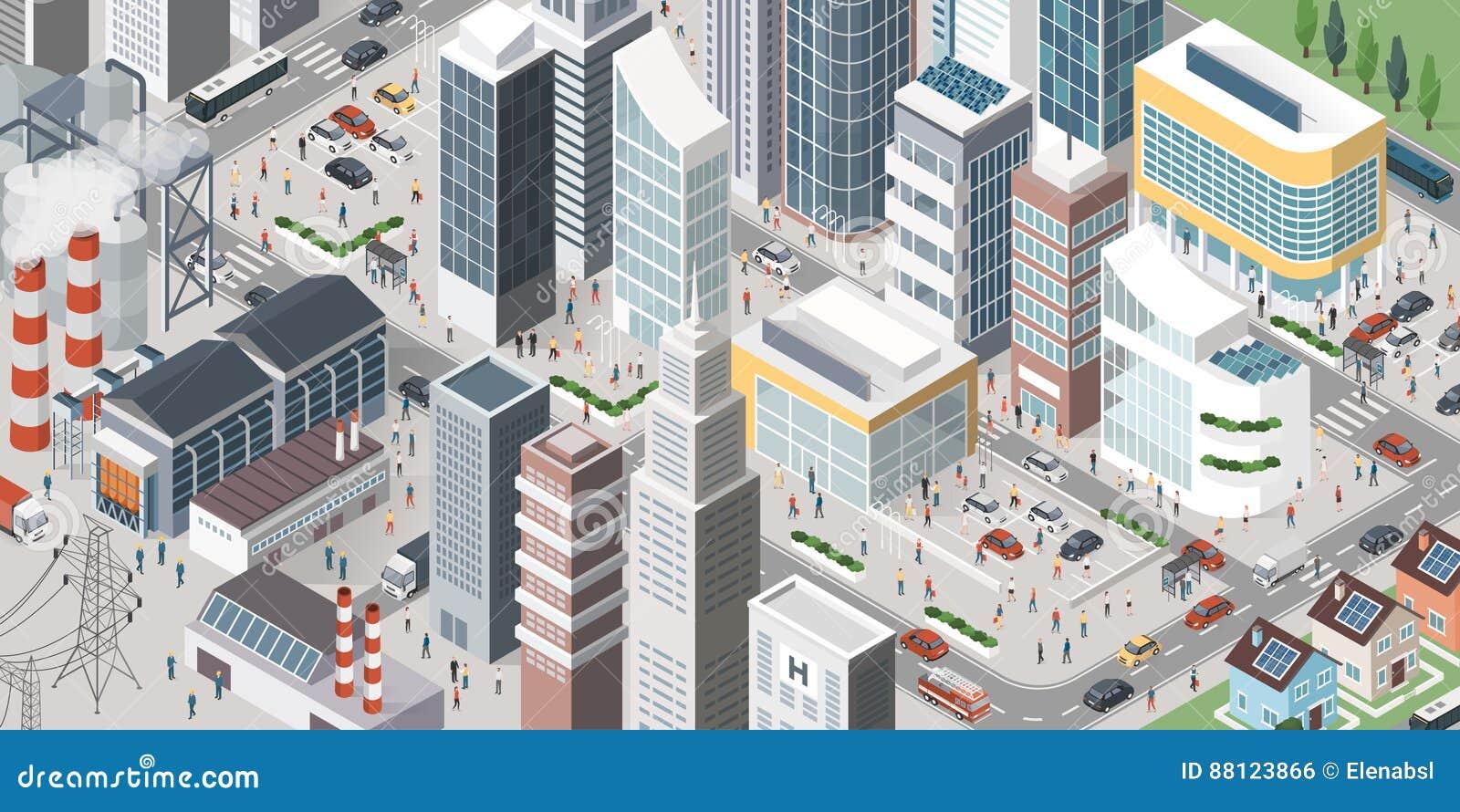 当代等量城市