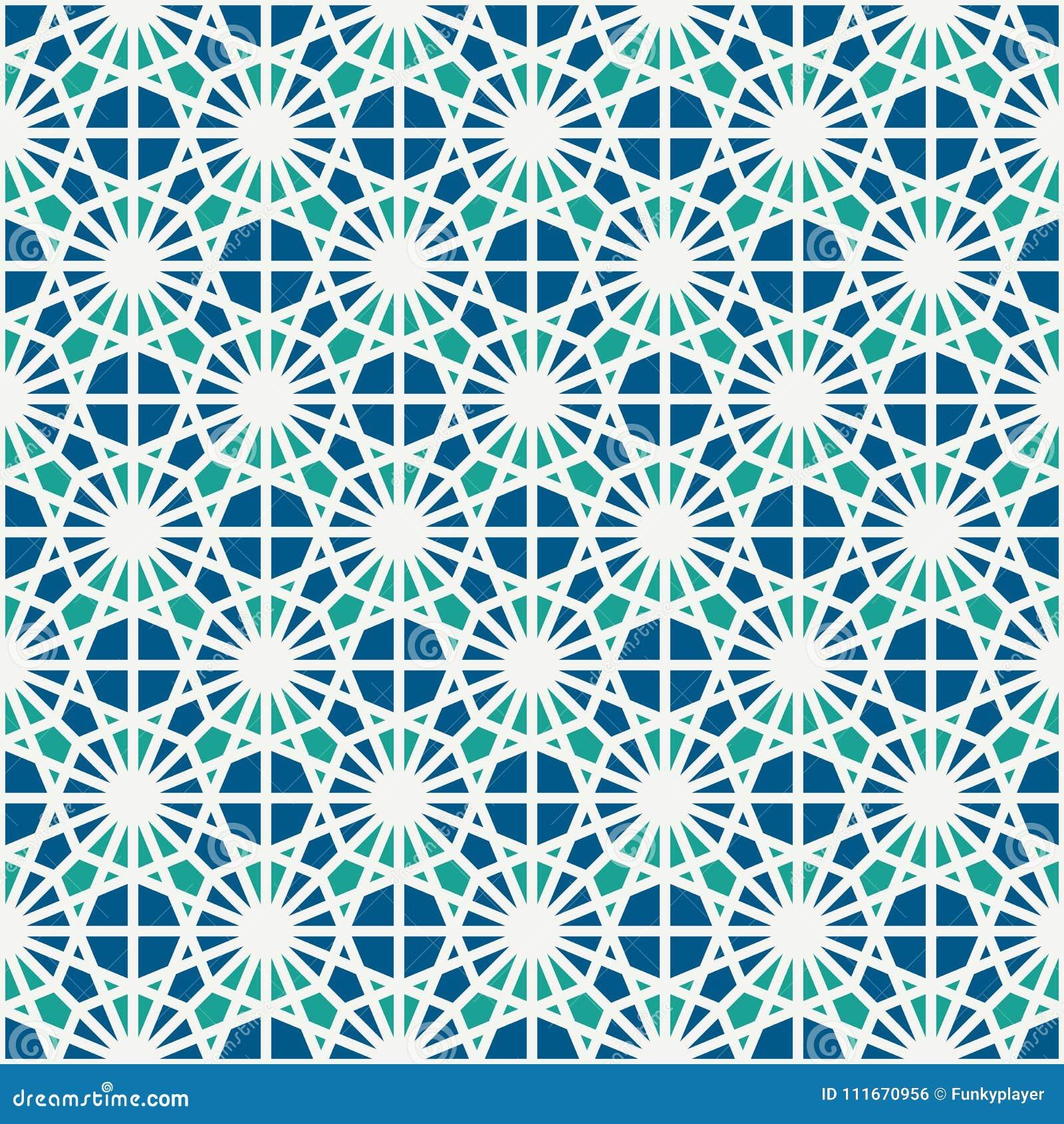 彩色玻璃马赛克无缝的表面样式 摩洛哥陶瓷砖主题 透雕细工装饰品 万花筒背景