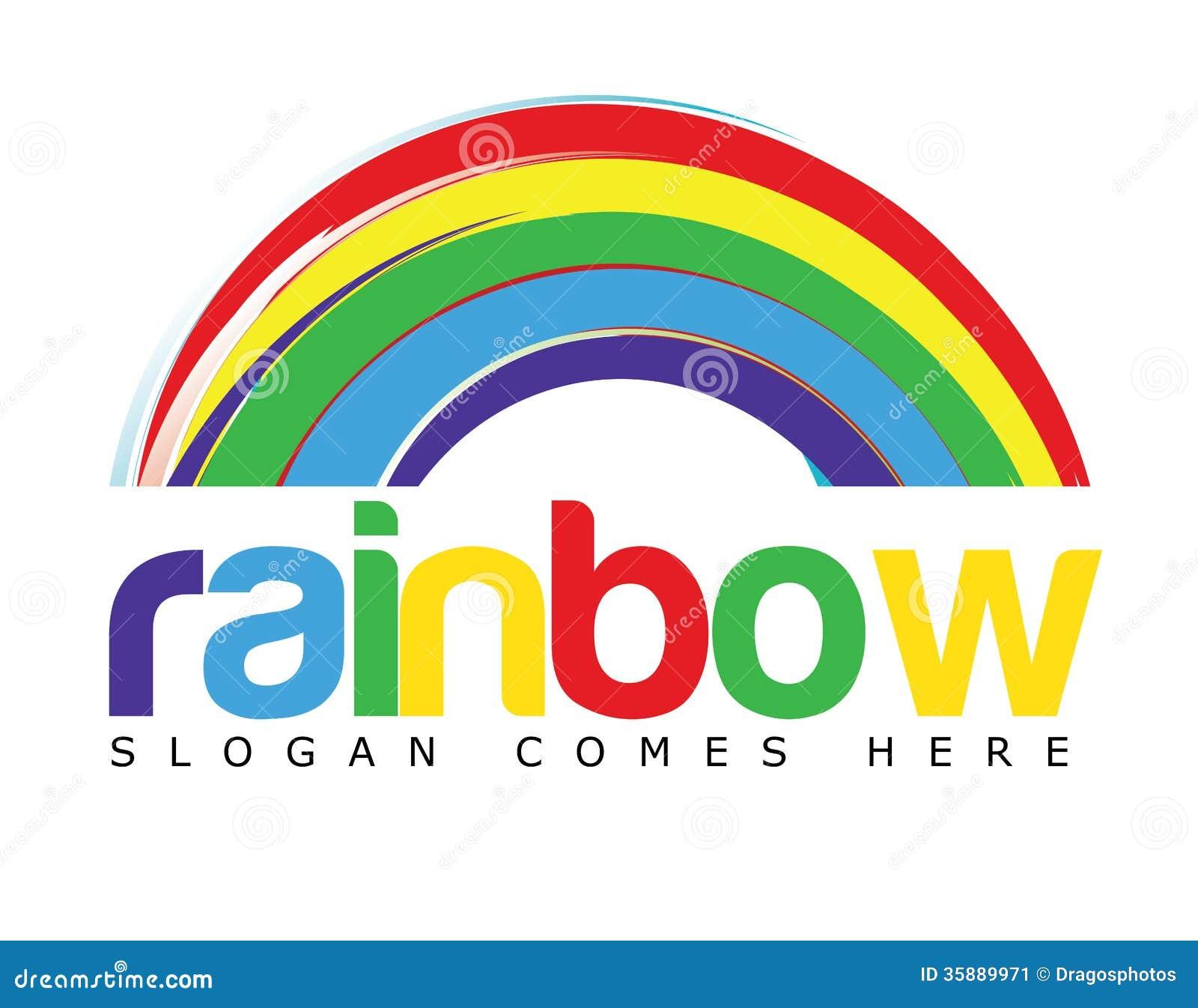 色中导航色_导航描述与色的文本的商标模板一个彩虹概念适用于各种各样的企业.