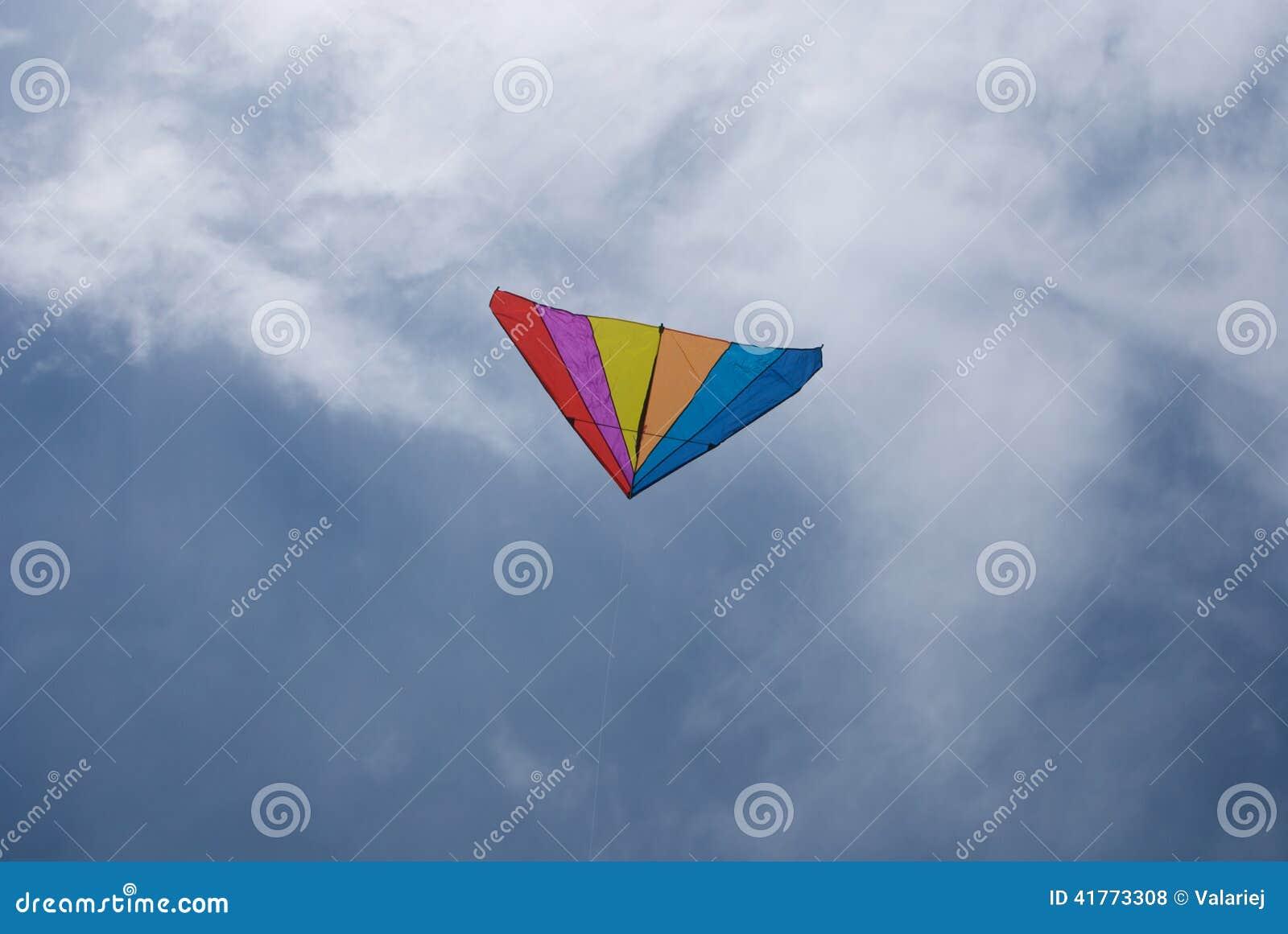 彩虹风筝图片