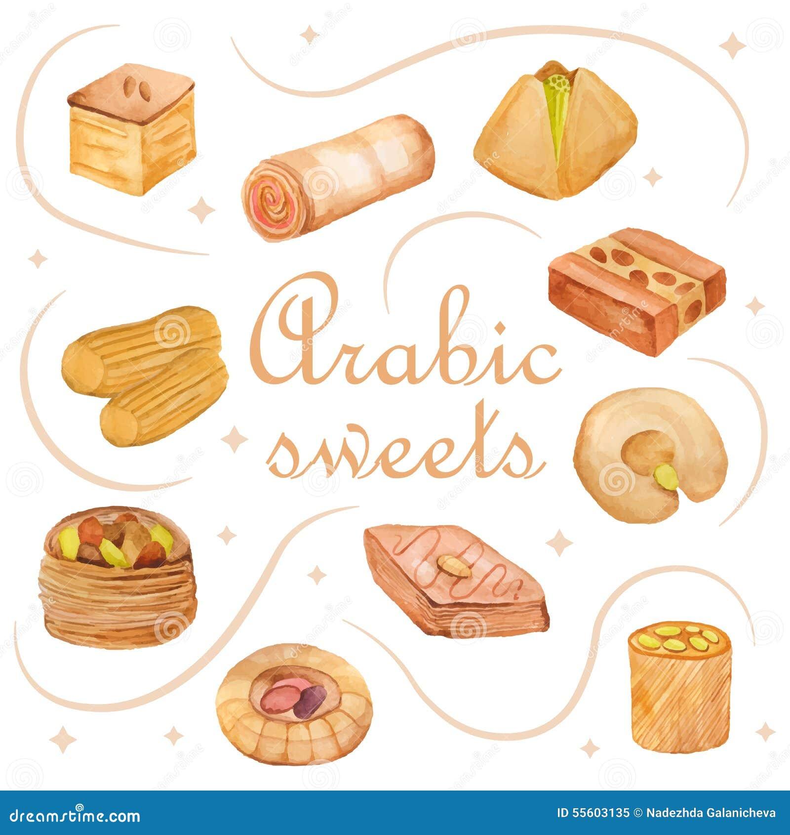 55603135 for Arabic cuisine names