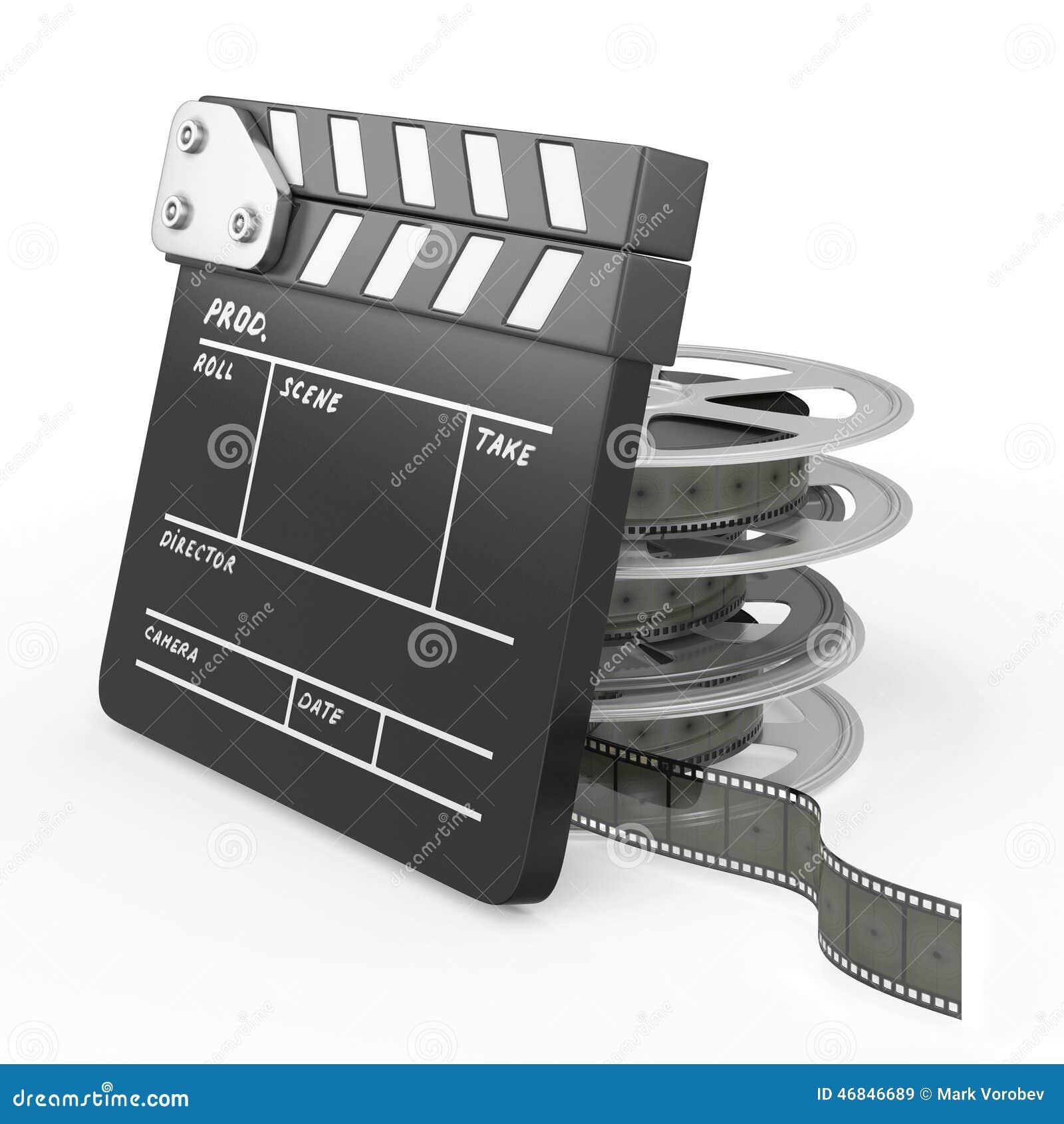 影片和拍板