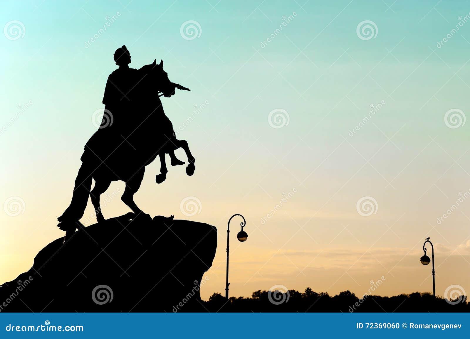 彼得大帝纪念碑,圣彼德堡,俄罗斯